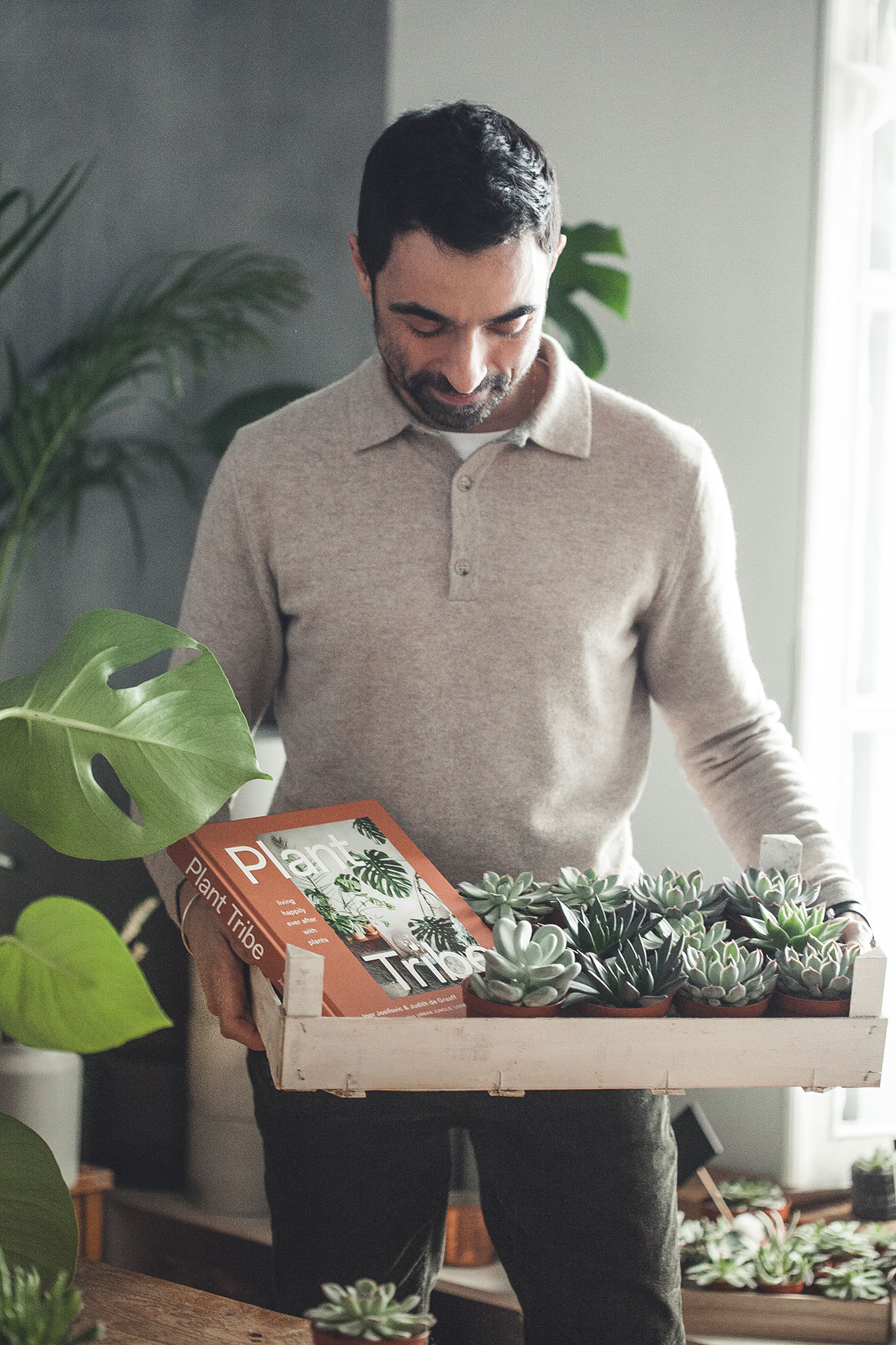 Igor Josifovic, co-author of PLANT TRIBE / LIVING HAPPILY EVER AFTER WITH PLANTS.