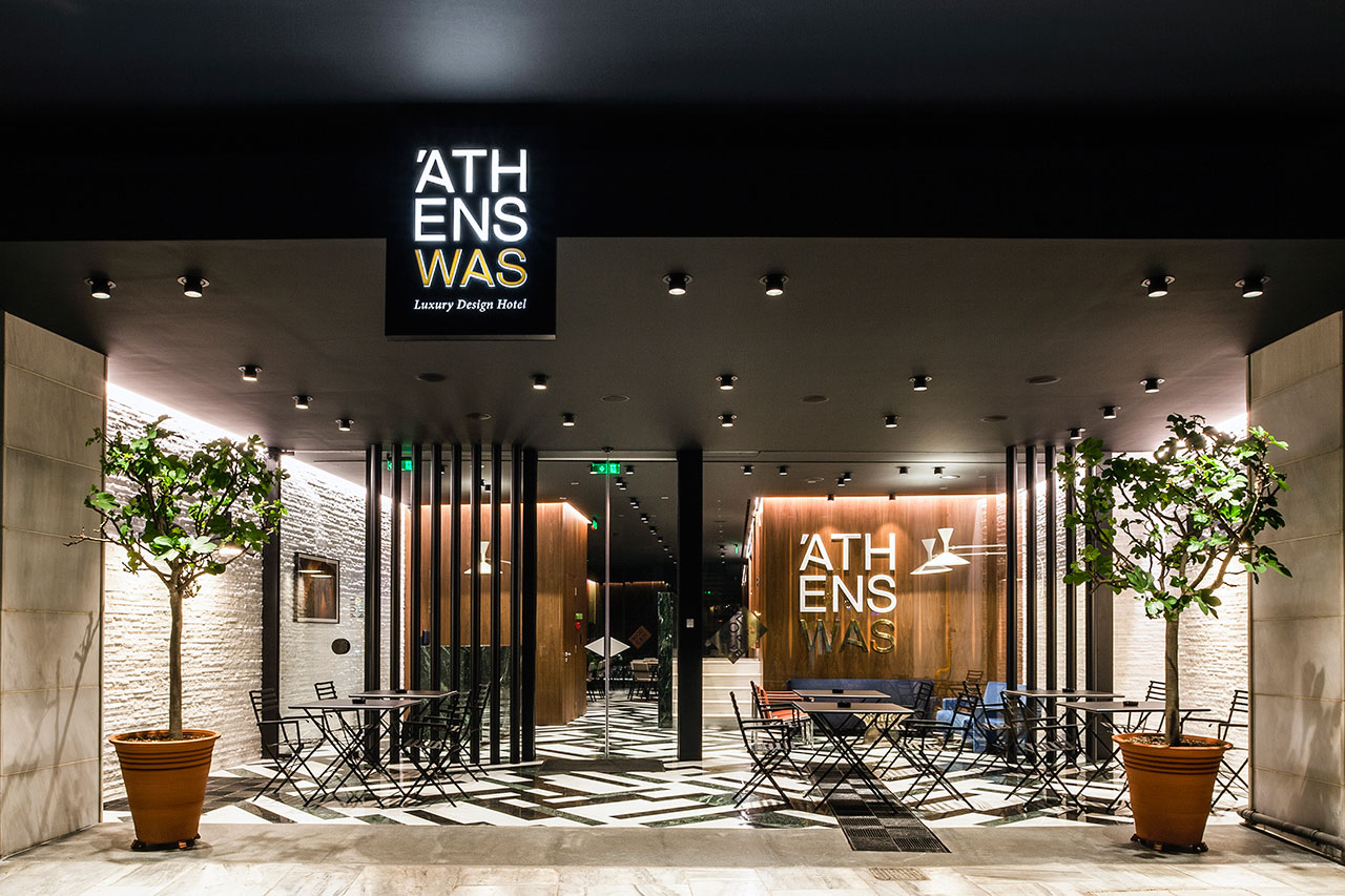Athenswas hotel athens city experience by yatzer for Design hotel athens