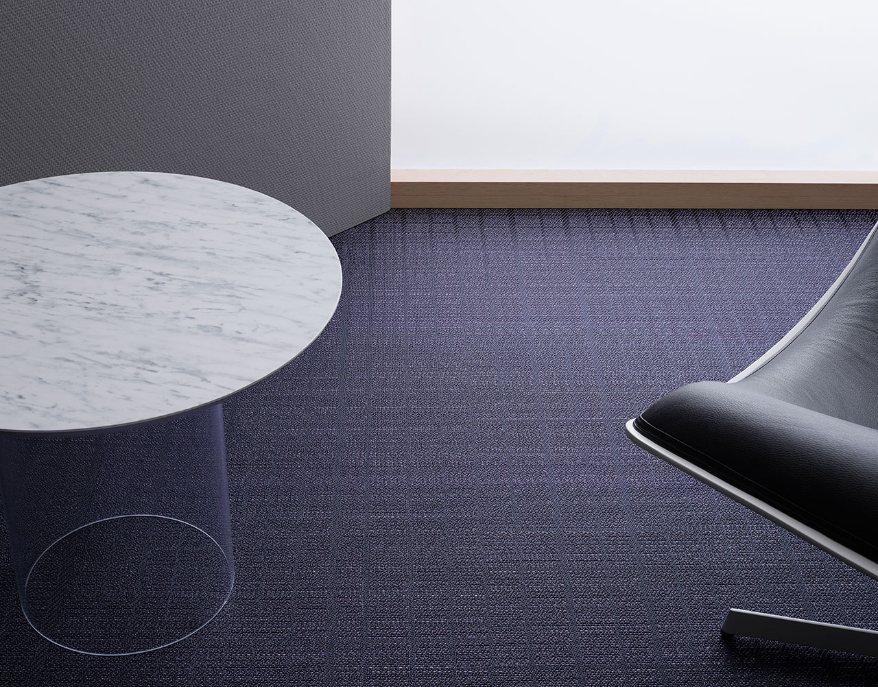 BOLON BY YOU – Grid Grey Lavender Gloss.Photo by Magnus Torsne.