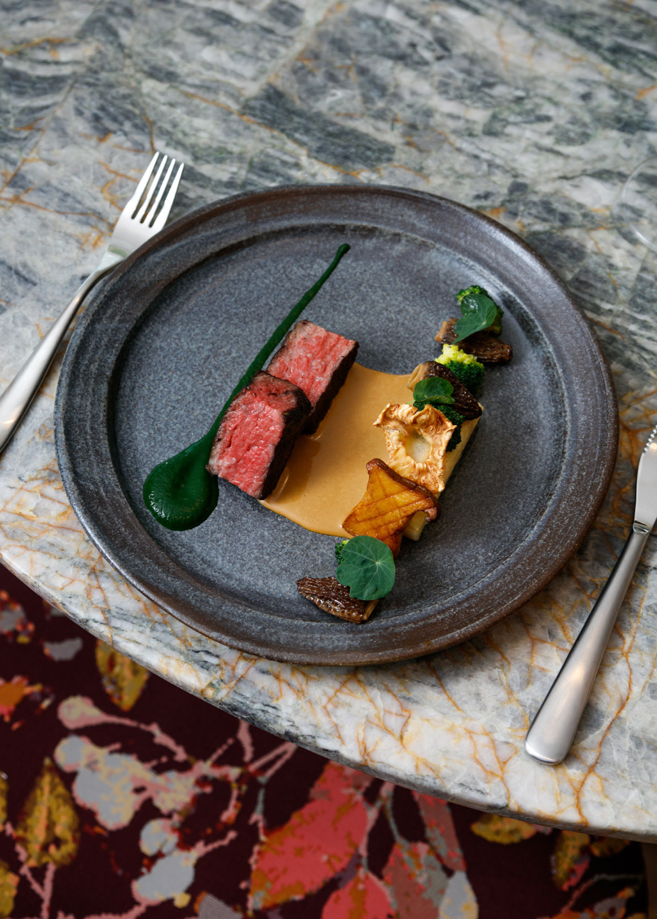 Botanist - Wagyu Beef. Photo by Ian Lanterman via v2com.