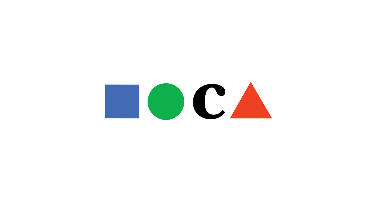 Museum of Contemporary Art, L.A. logo © Chermayeff & Geismar & Haviv.