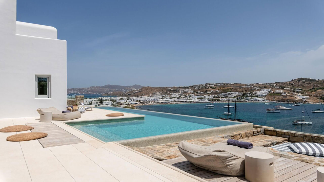 Villa Avant-Garde, Ornos, Mykonos. Photo © Kinglike Concierge.