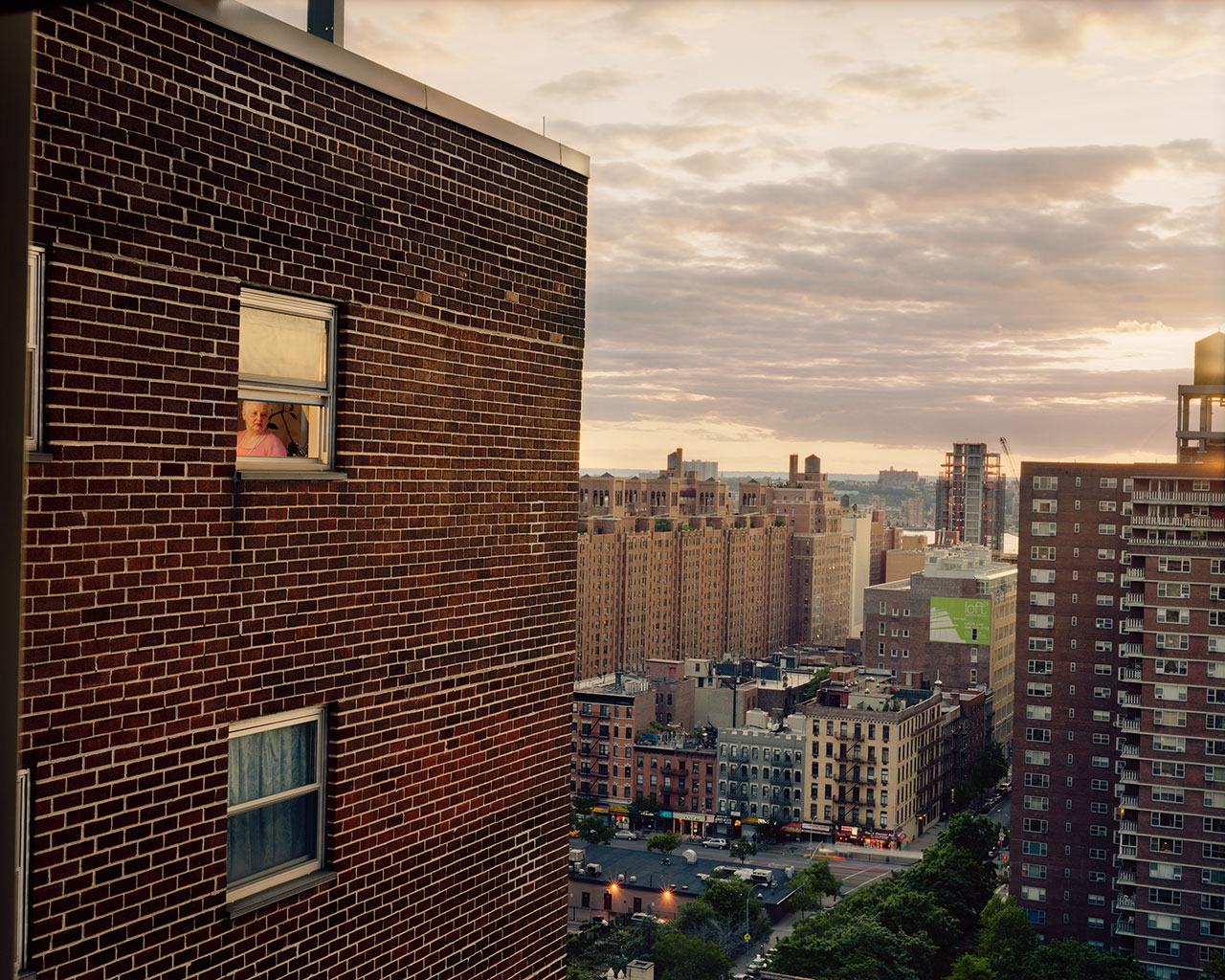 Out my window, New York City. Photo © Gail Albert Halaban.