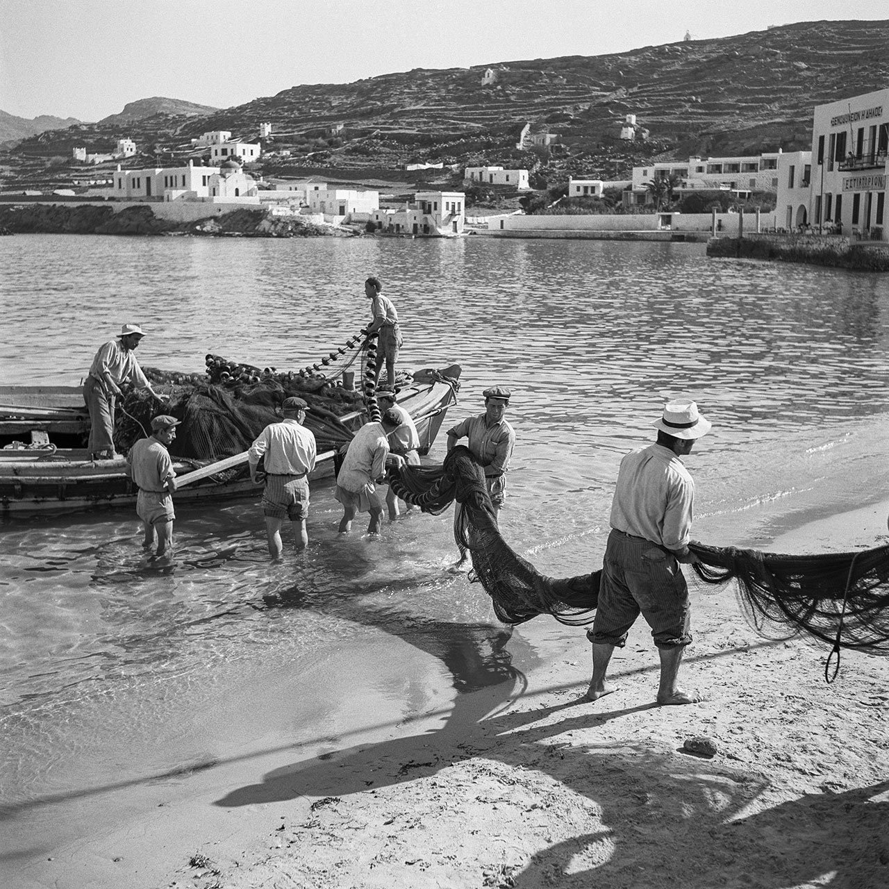 Mykonos 1955. Photo © Robert McCabe.