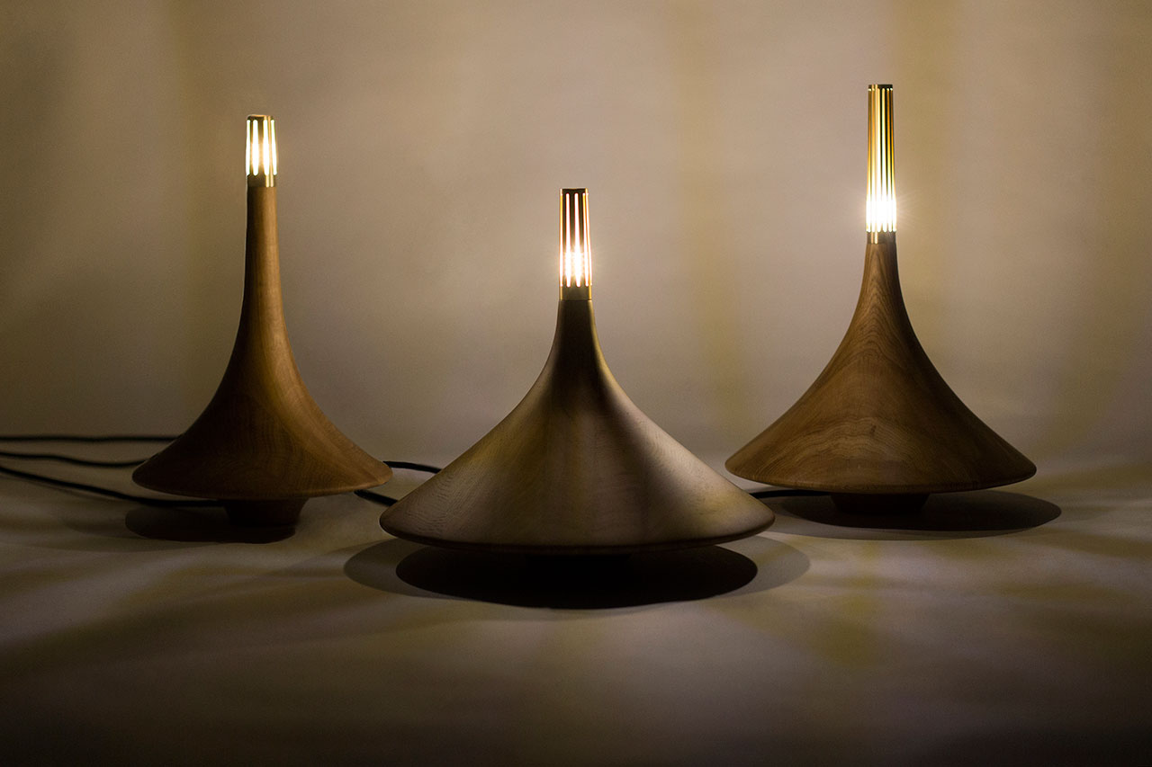 Dervish Lamp by Booabbood for Squad Design. Photo by Squad design.