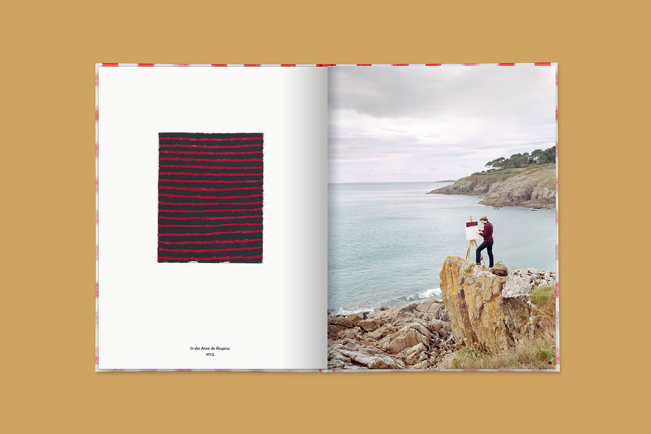 Anse de Rospico, France, 2013 (book spread). © 2016 Edition Taube, Hank Schmidt in der Beek, Fabian Schubert.