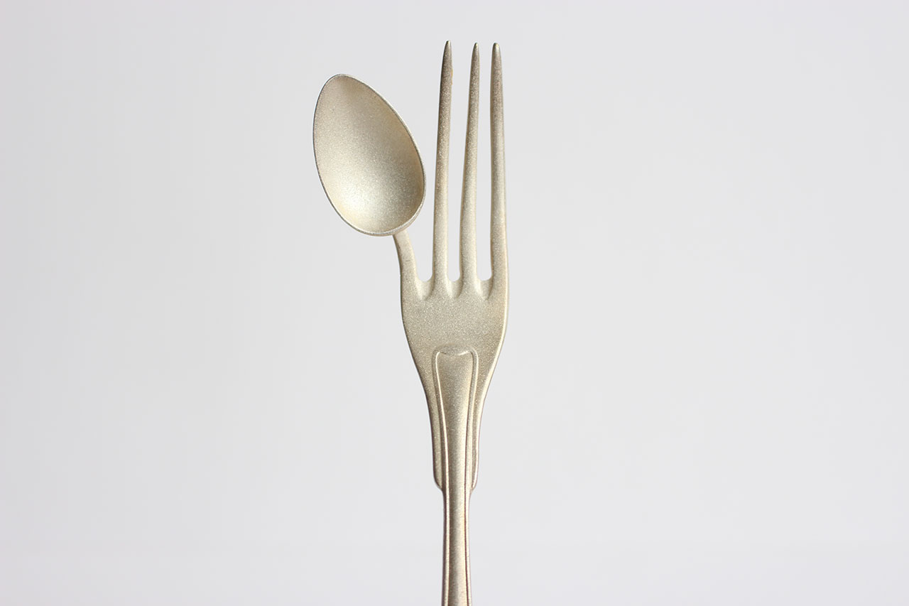 Fork small spoon from Maki Okamoto for Steinbeisser. Photo courtesy Steinbeisser.