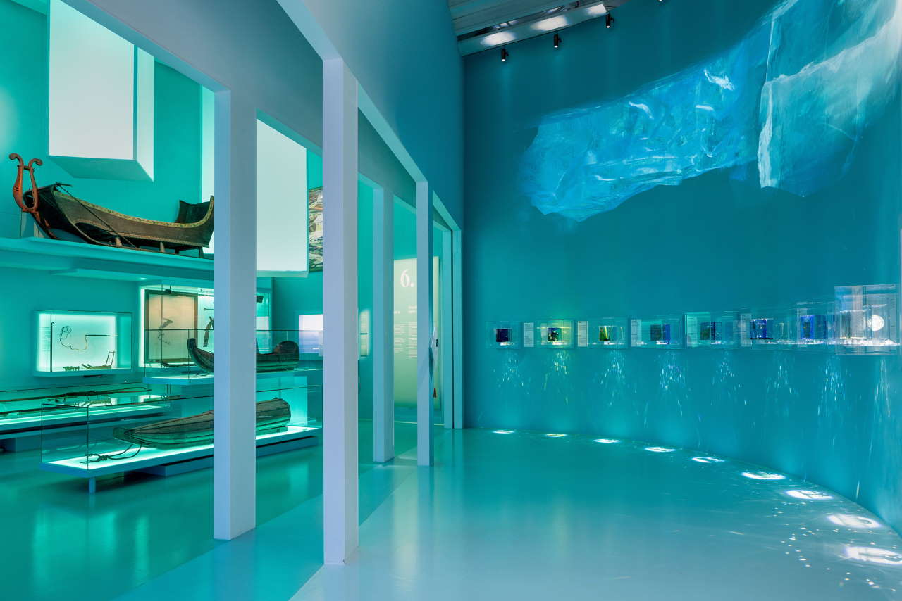 The Arctic - While the Ice is Melting, Nordiska museet, Stockholm. Exhibition view. Photo by Hendrik Zeitler.
