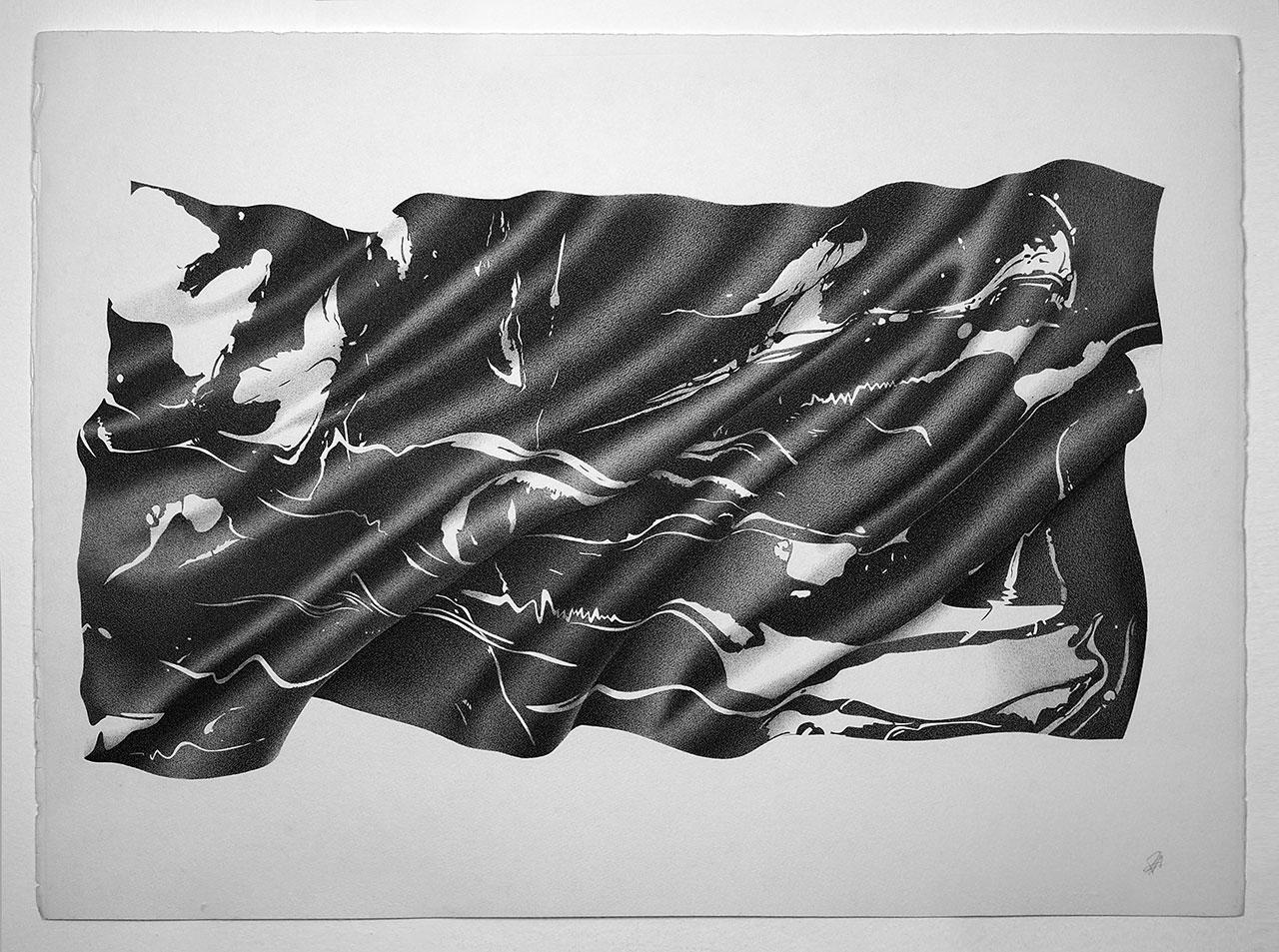 Alessandro Paglia,SOFT MARBLE, 100 x 75 cm.