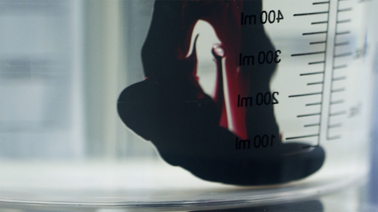 """The Making of """"Forbidden Red"""". Video Screen Shot. Courtesy BMW Group."""