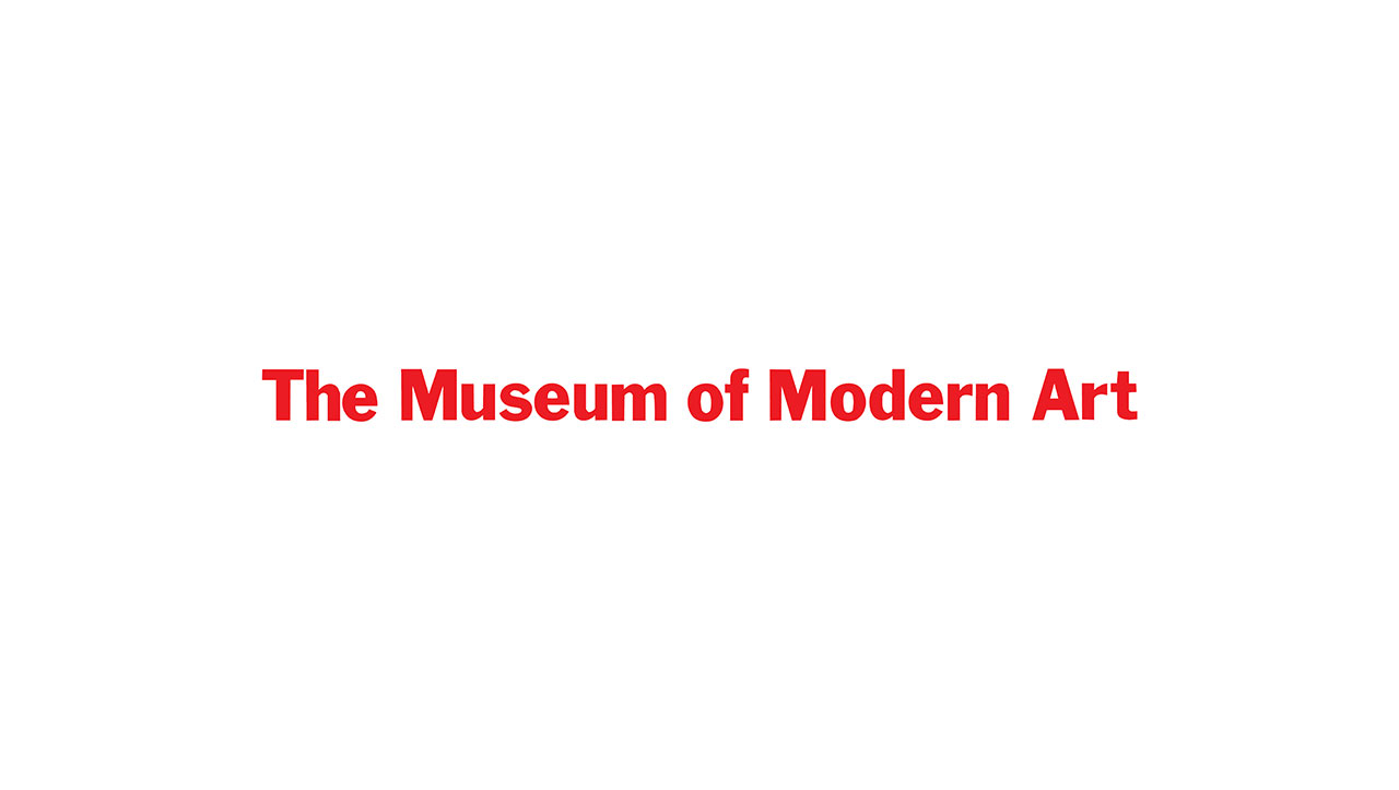 The Museum of Modern Art, New York logo © Chermayeff & Geismar & Haviv.