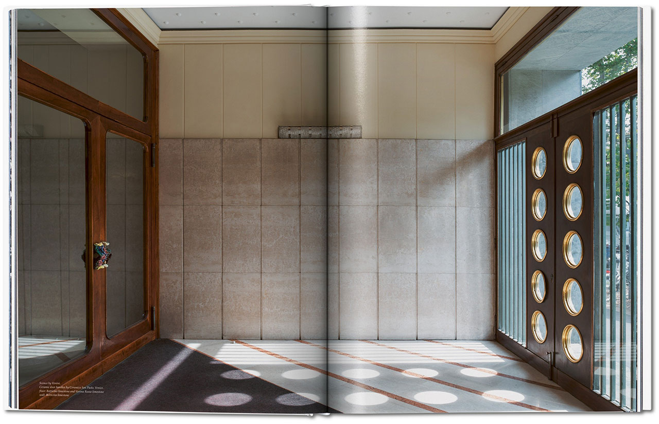 Entryways of Milan – Ingressi di Milano, book spread © Taschen.