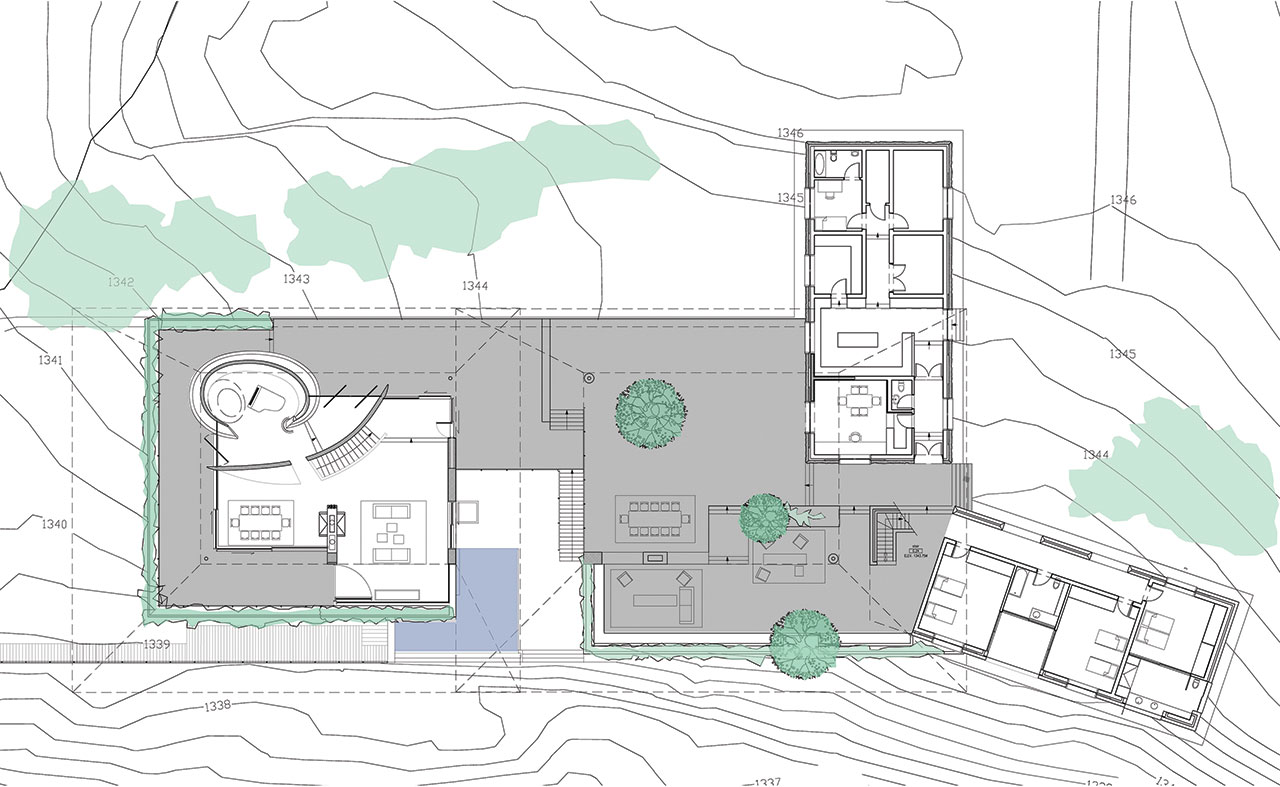 Plan © Seilern Architects and Muzia Sforza.