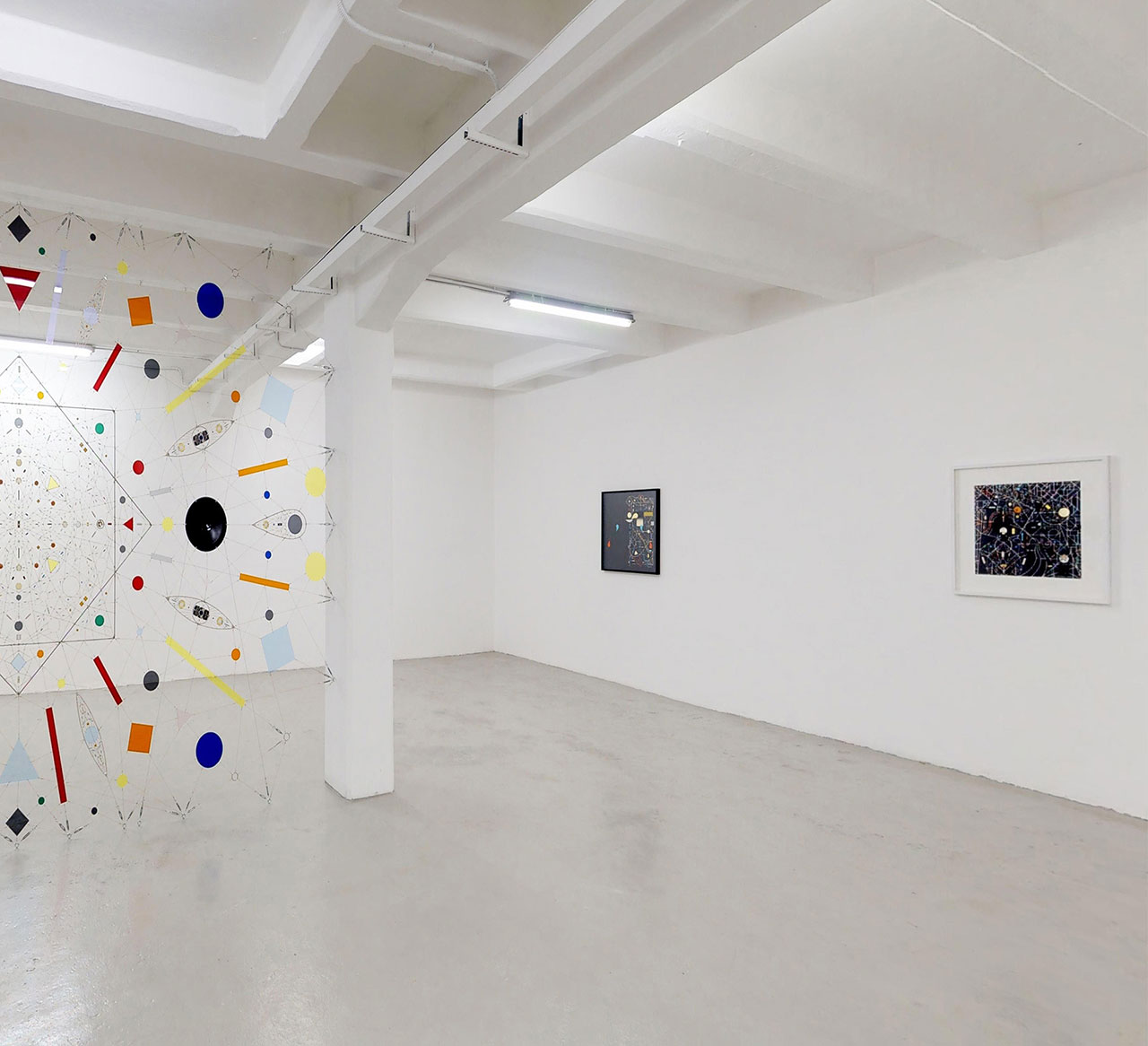 Leonardo ULIAN, Perpetual nexus. View of the show. Courtesy: The Flat – Massimo Carasi. Photo by The Flat.