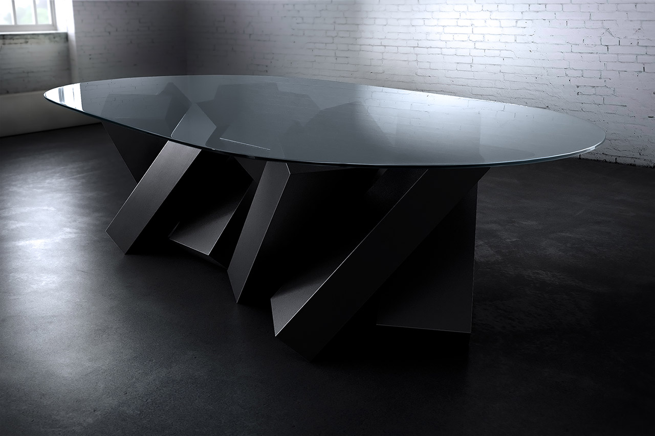 Duffy London Megalith Table Round Edition 2016. Photo courtesy Duffy London.