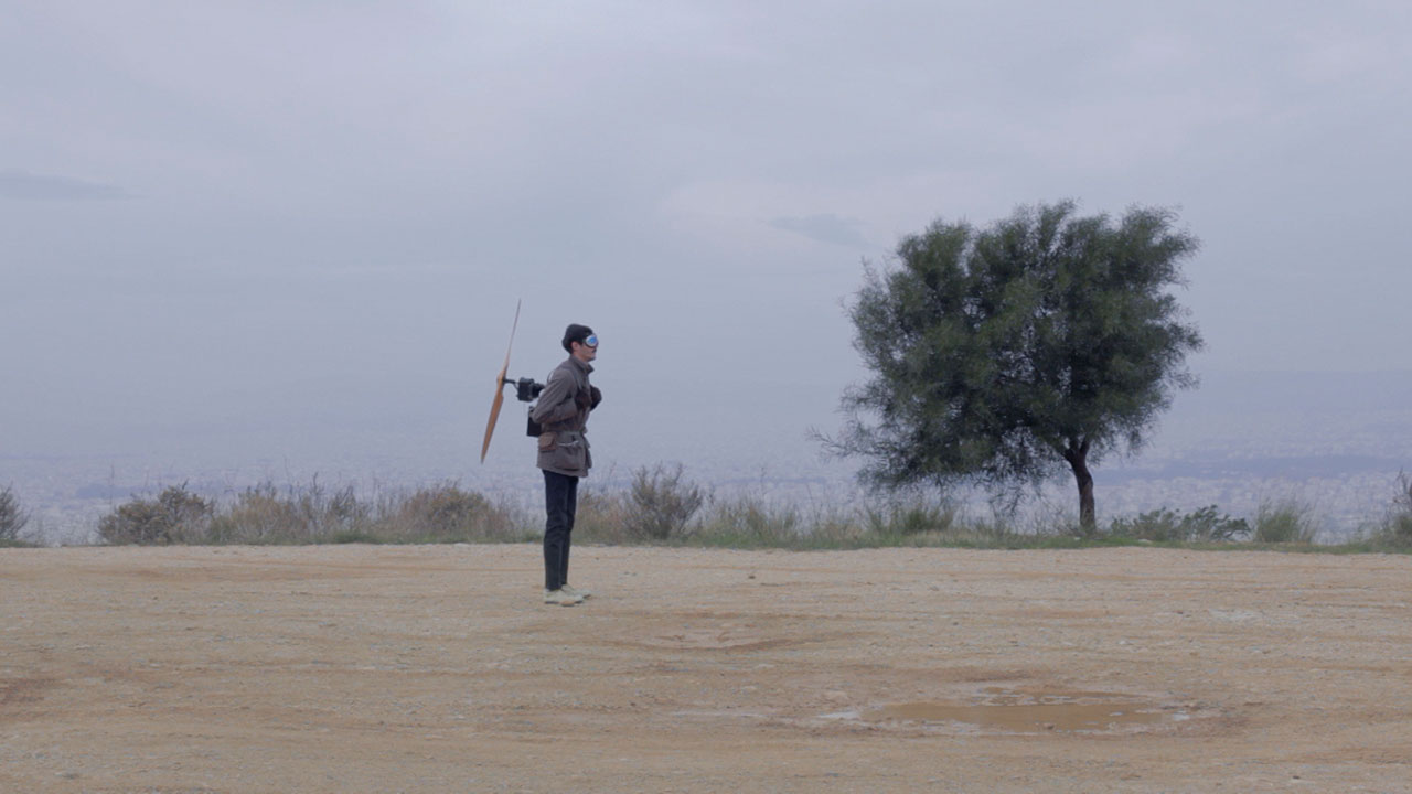 Orestis Mavroudis, Attempt to Fly, 2013. HD video with sound, 5 min. Courtesy of the artist.