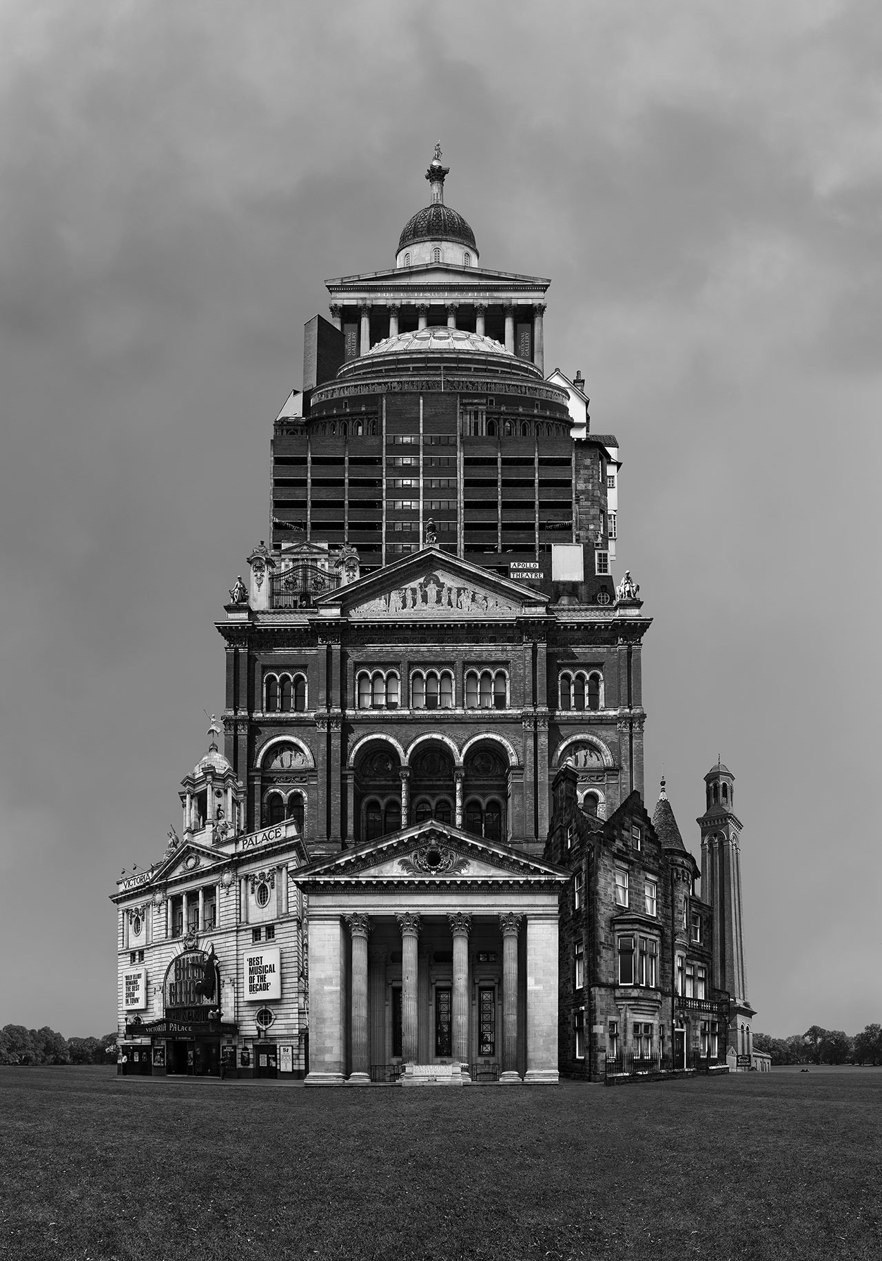 Beomsik Won,Archisculpture 011, 2012. Archival pigment print, 100x70 or 171x120cm.