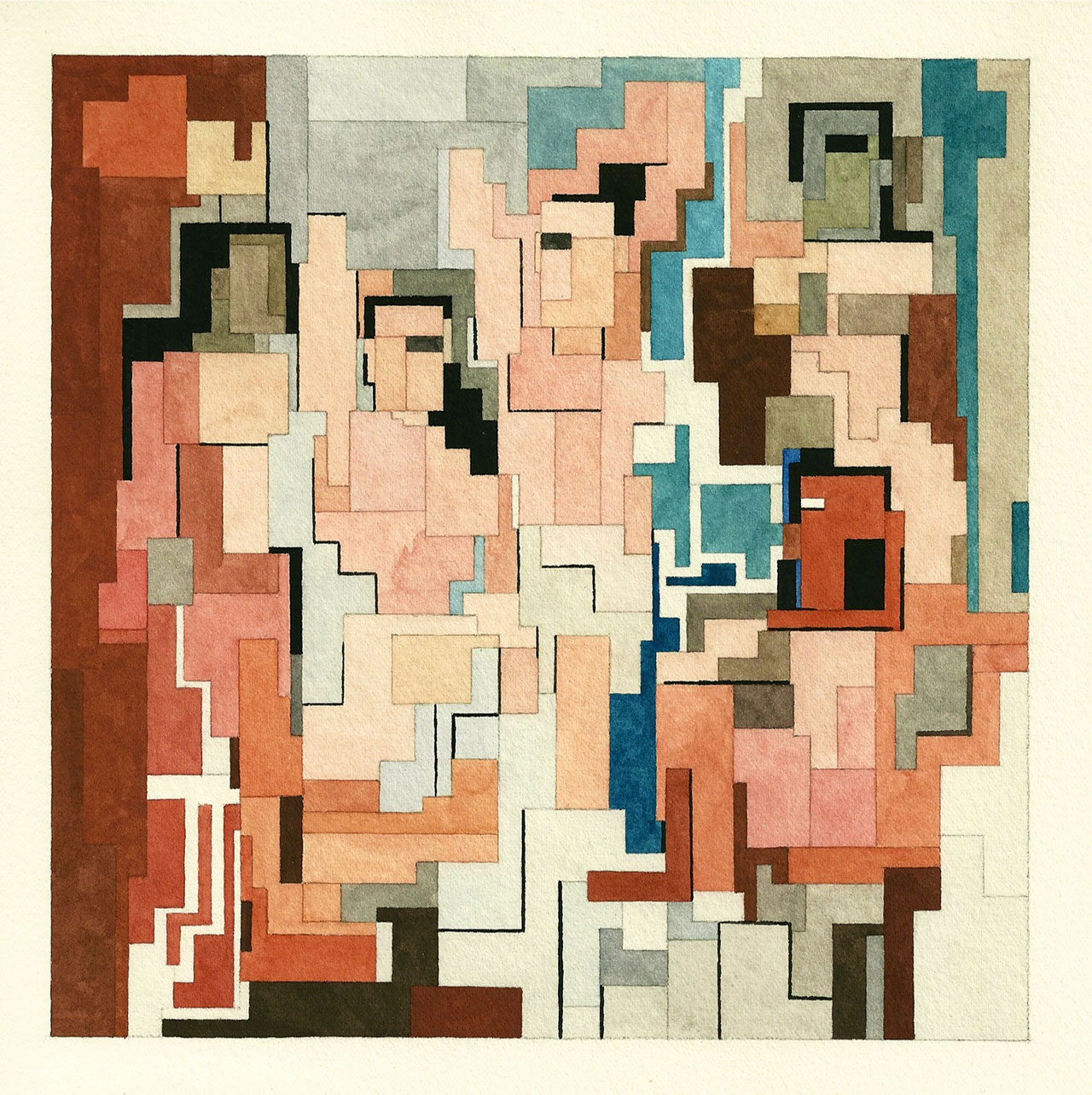 Les Demoiselles d'Avignon, Art History 101 series by Adam Lister.(Original Painting by Pablo Picasso, 1907).