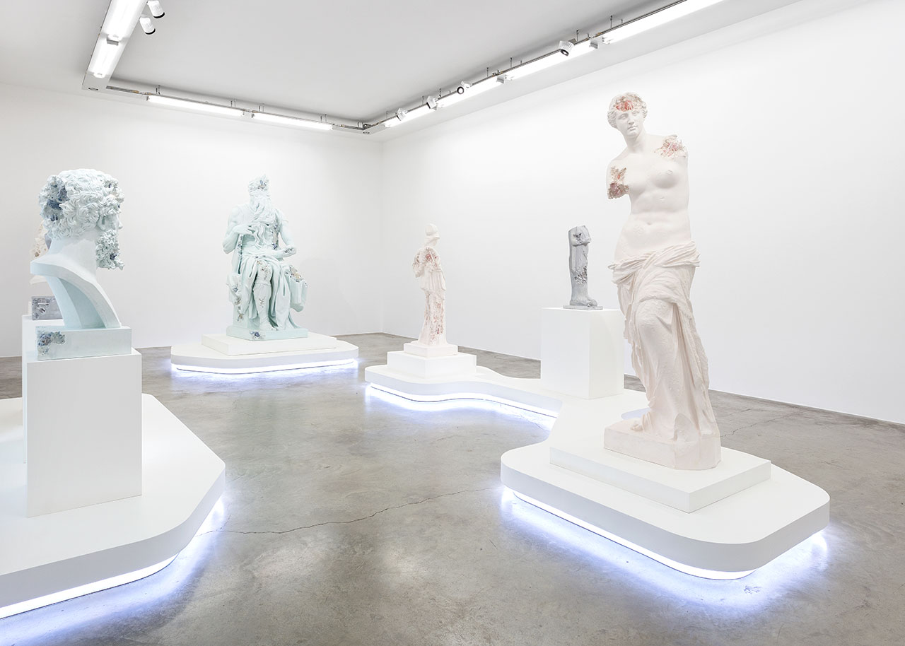 "View of the exhibition ""3020"" at Perrotin Paris. Photo by Claire Dorn. © Courtesy of the artist and Perrotin."