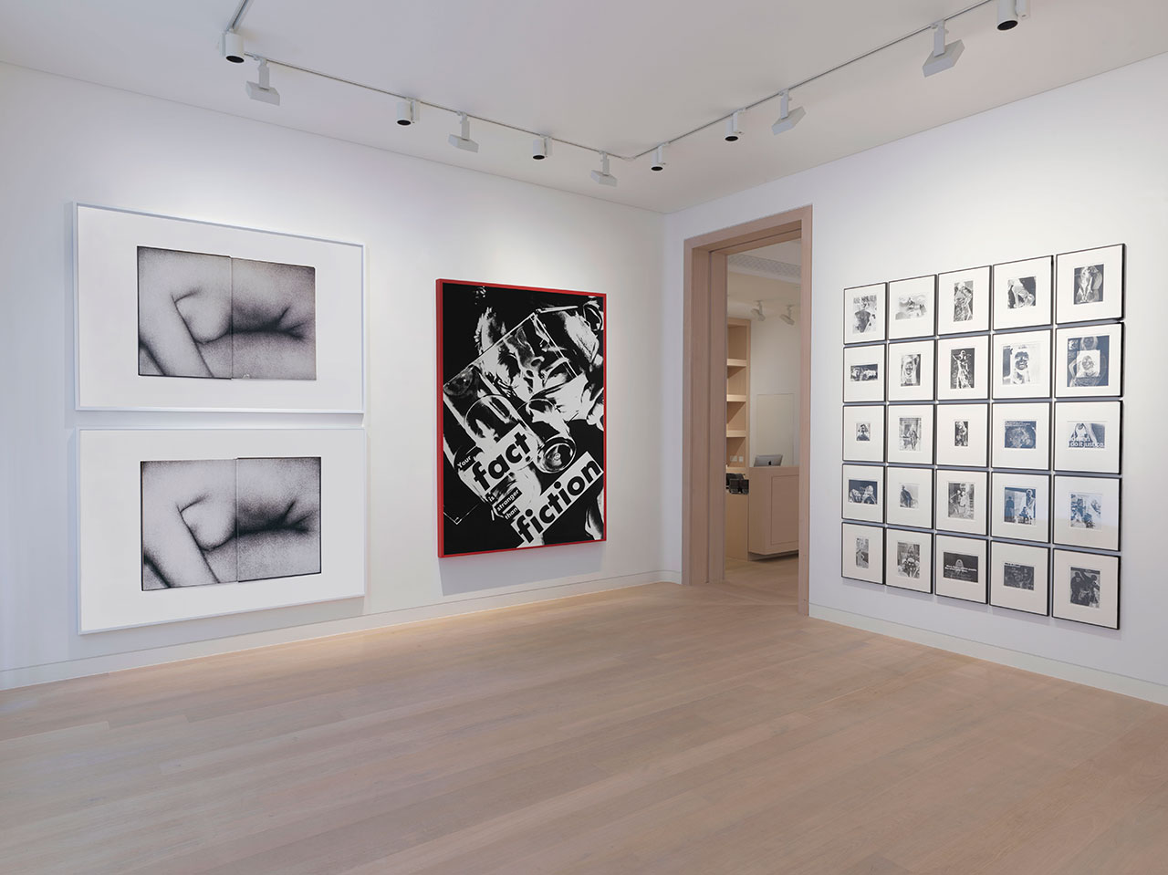 Double Take exhibition view. Courtesy Skarstedt Gallery, London.