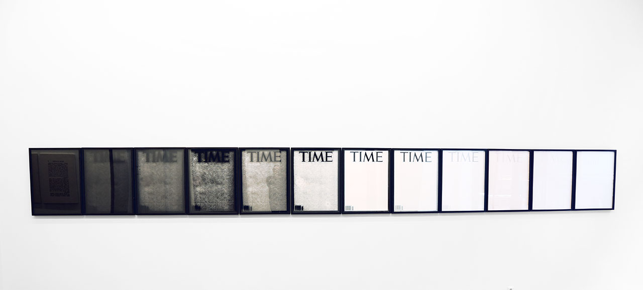 Panos Tsagaris, TIME (Somewhere between God and Naught), 12 archival digital prints, 76 x 56 cm each, 2016. Courtesy of the artist and Kalfayan Galleries, Athens-Thessaloniki.