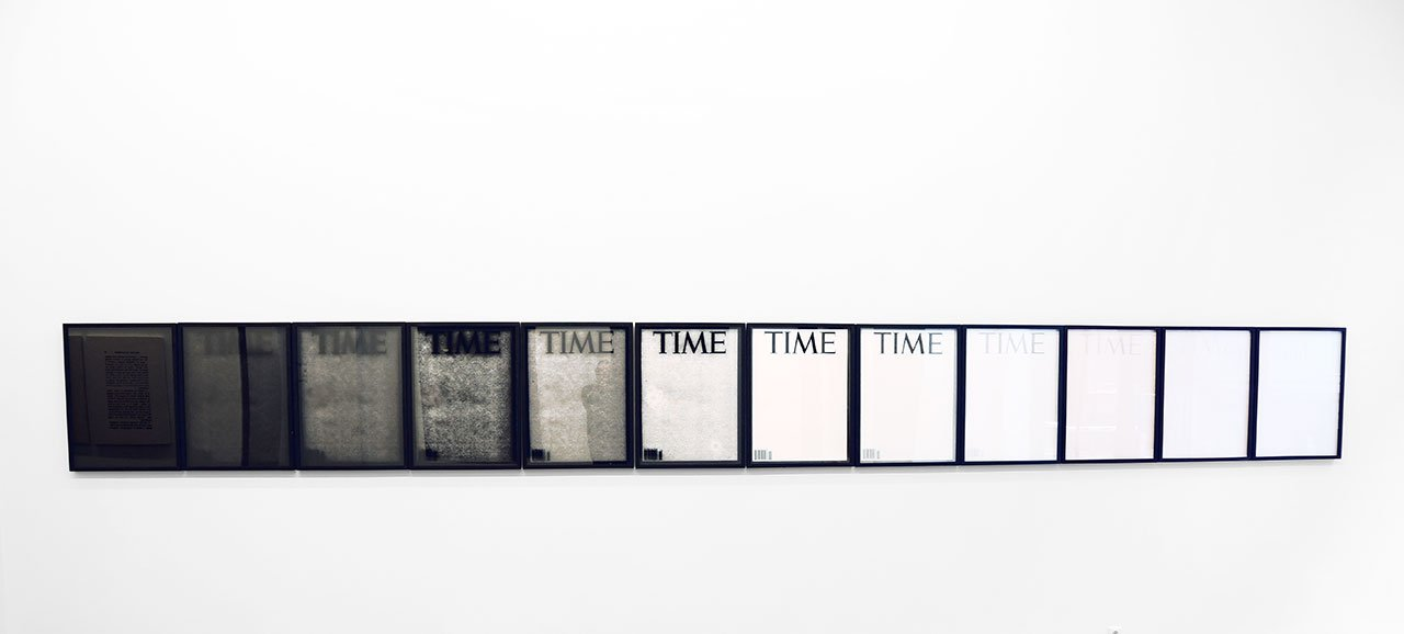 Panos Tsagaris, TIME(Somewhere between God and Naught), 12 archival digital prints, 76 x 56 cm each, 2016. Courtesy of the artist and Kalfayan Galleries, Athens-Thessaloniki.