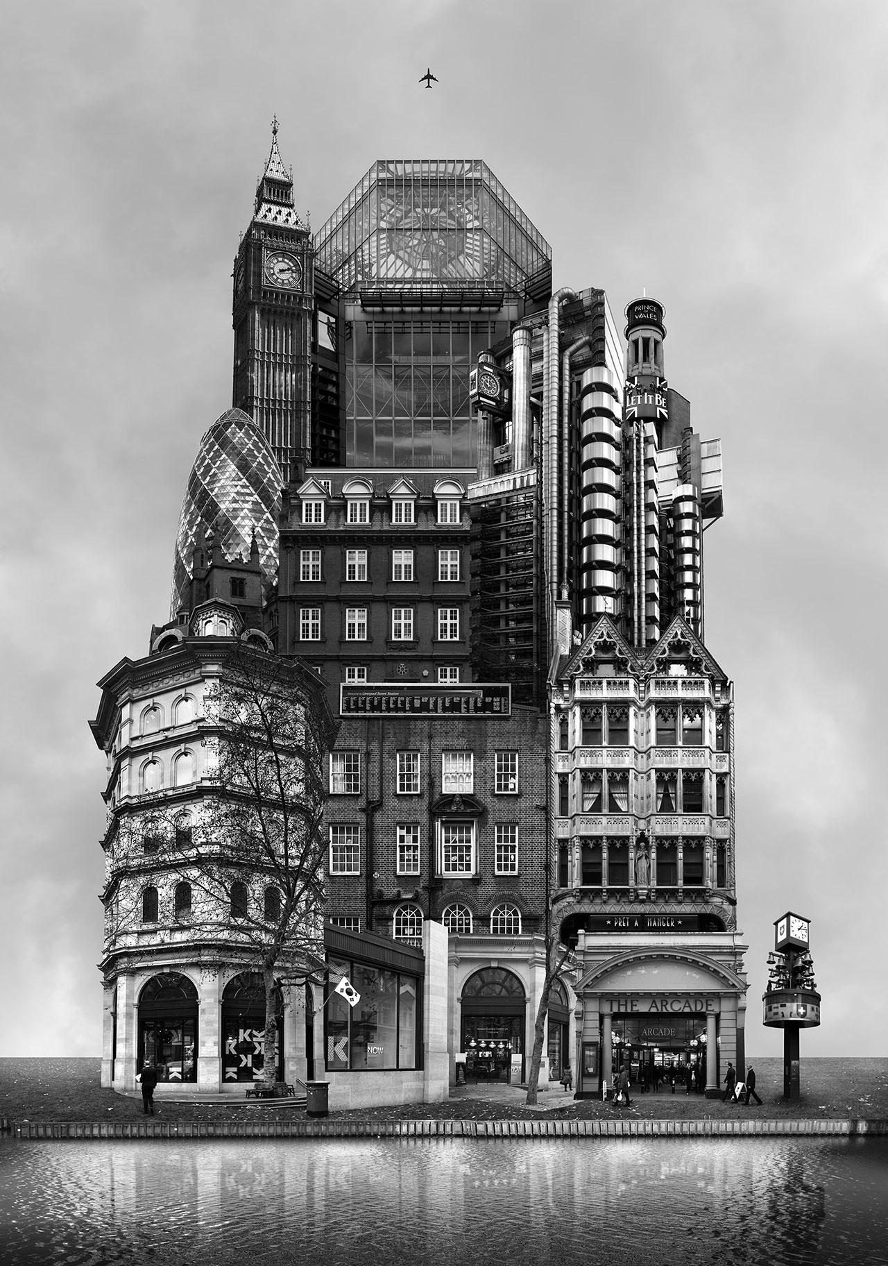 Beomsik Won,Archisculpture 013, 2012. Archival pigment print, 100x70 or 171x120cm.