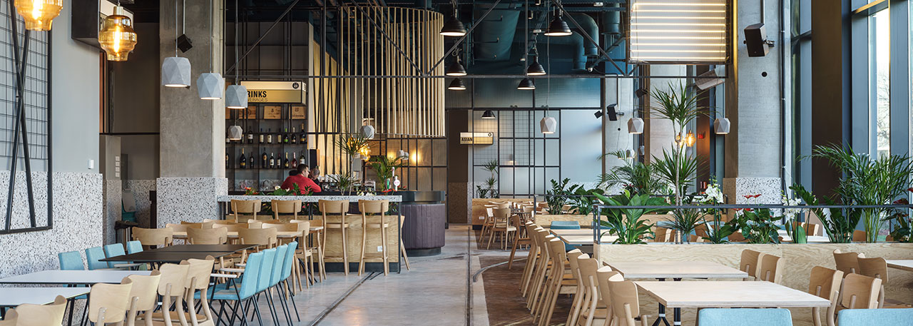 Bucharest Restaurant Celebrates Its Industrial Heritage In