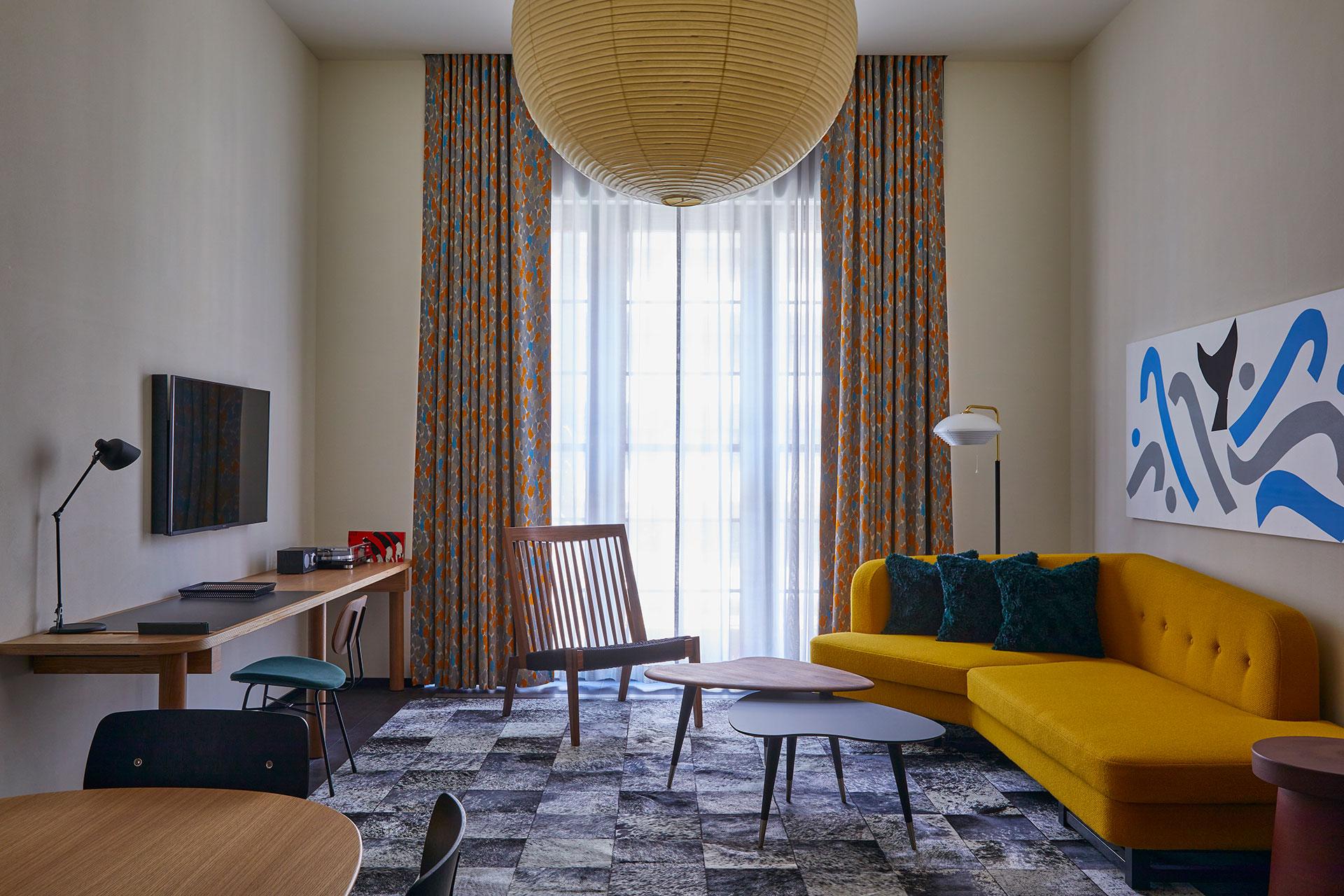 Ace Hotel Kyoto. Loft Suite. Photo by Yoshihiro Makino.