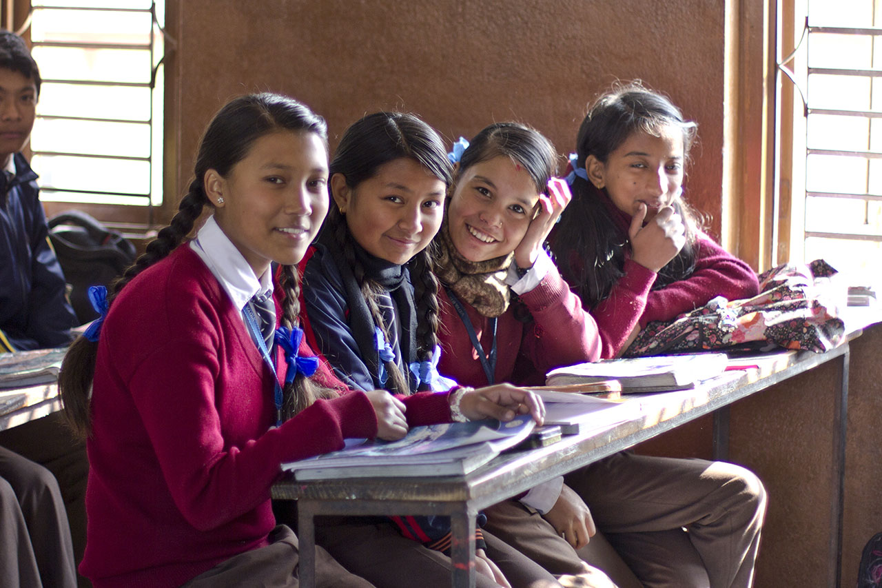 Cc For Education Is Weaving A Future For Children Of Nepal