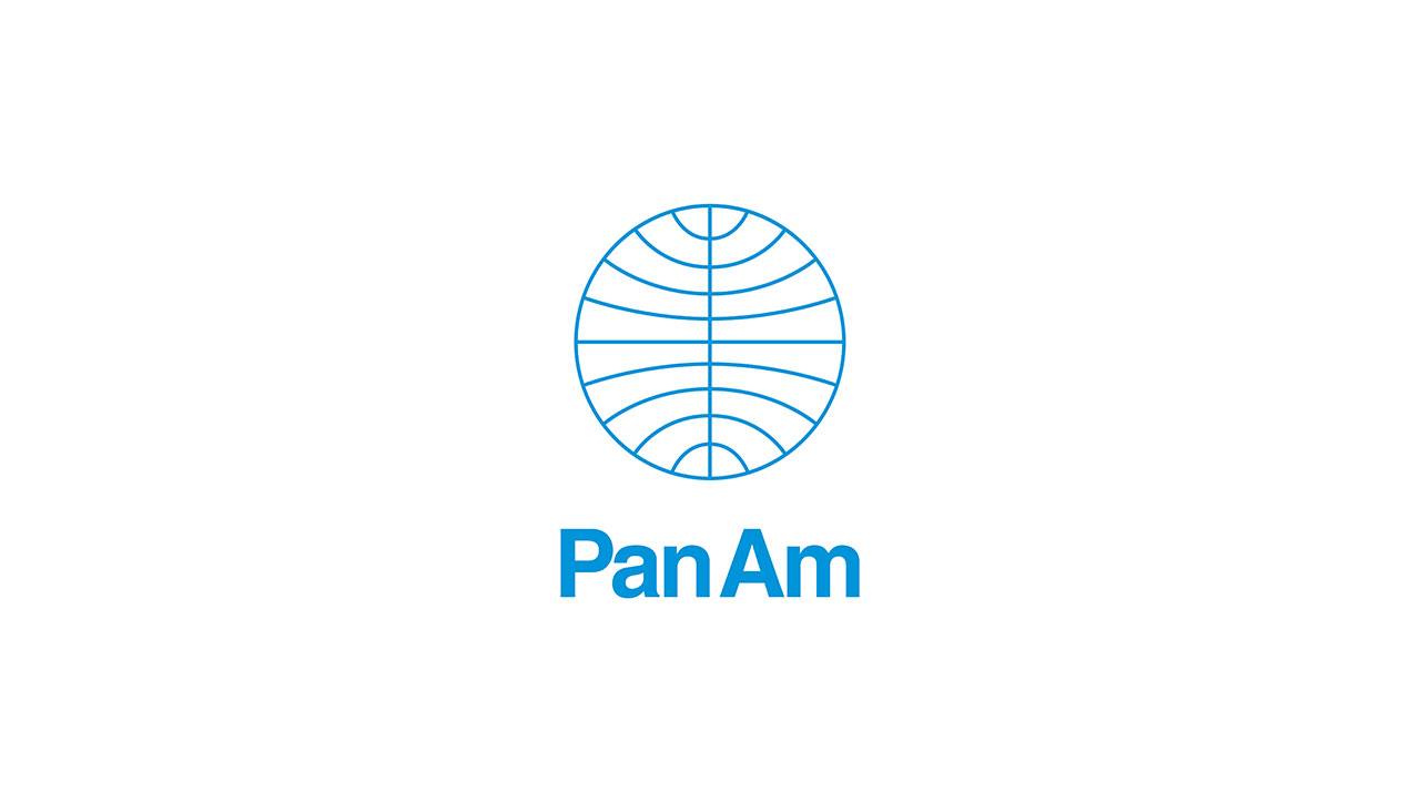 Pan American World Airways logo © Chermayeff & Geismar & Haviv.
