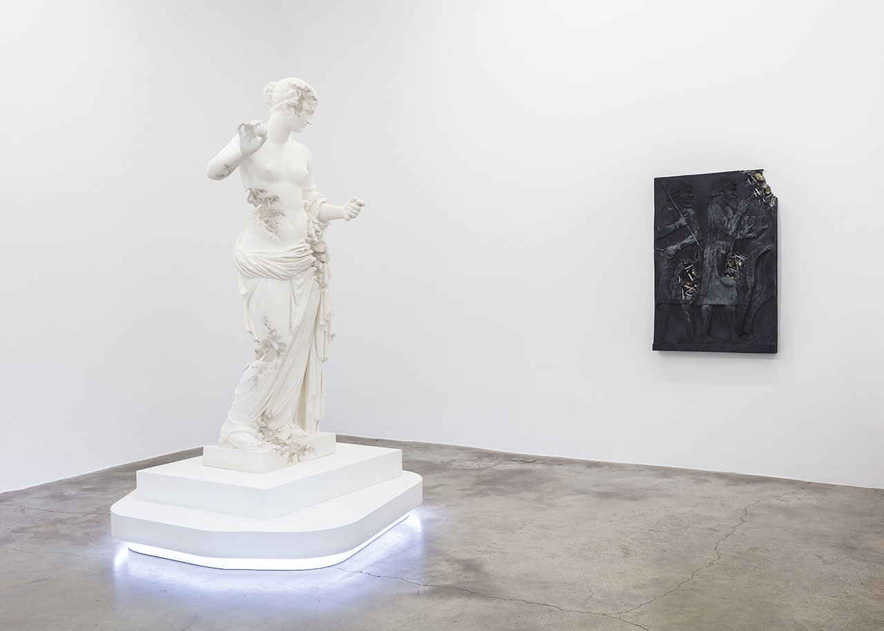 """View of the exhibition """"3020"""" at Perrotin Paris.Photo byClaire Dorn.© Courtesy of the artist and Perrotin."""