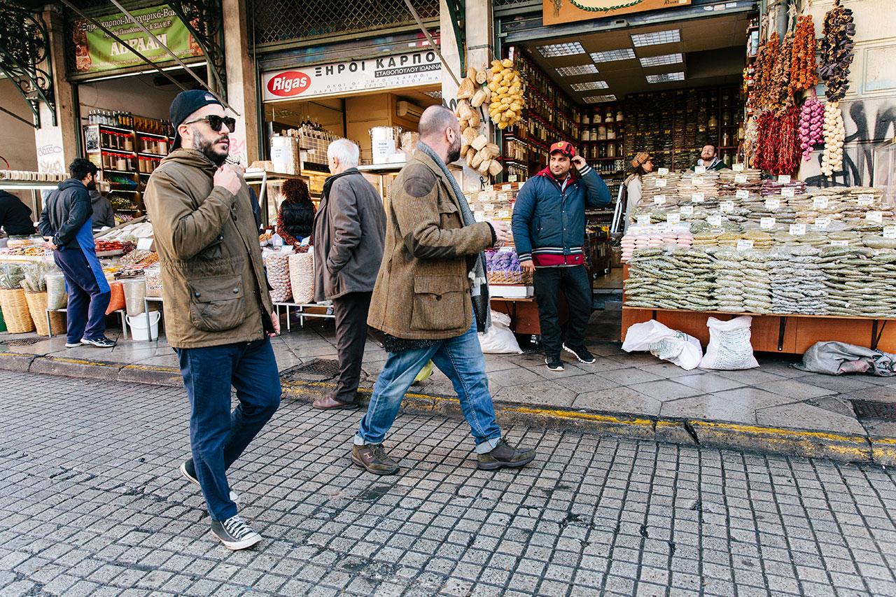 Carlo Mirarchi and AriVezené.Photo ©Paris Tavitian forEMBRACE byVezené.