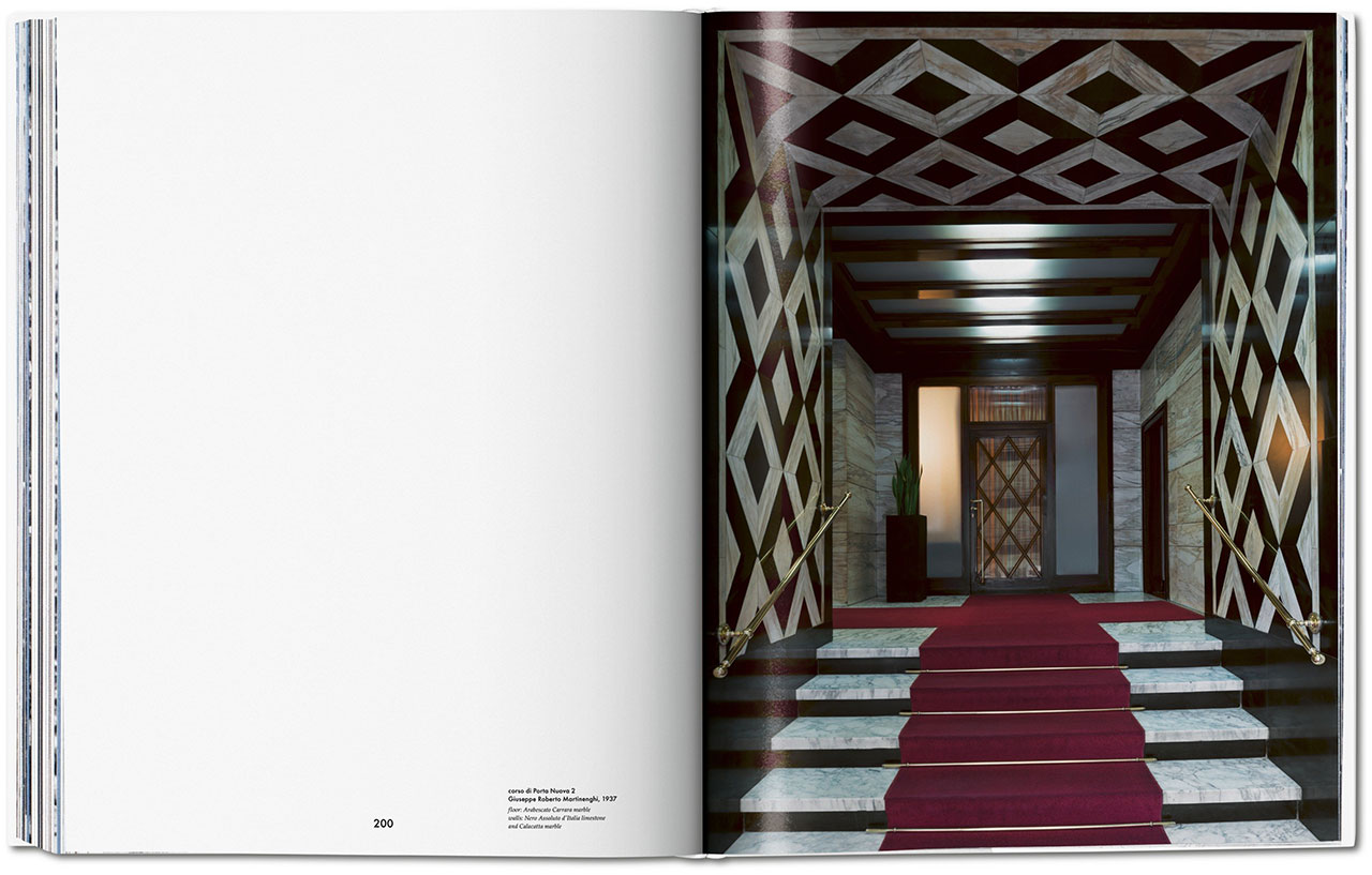 Entryways of Milan, book spread © Taschen.