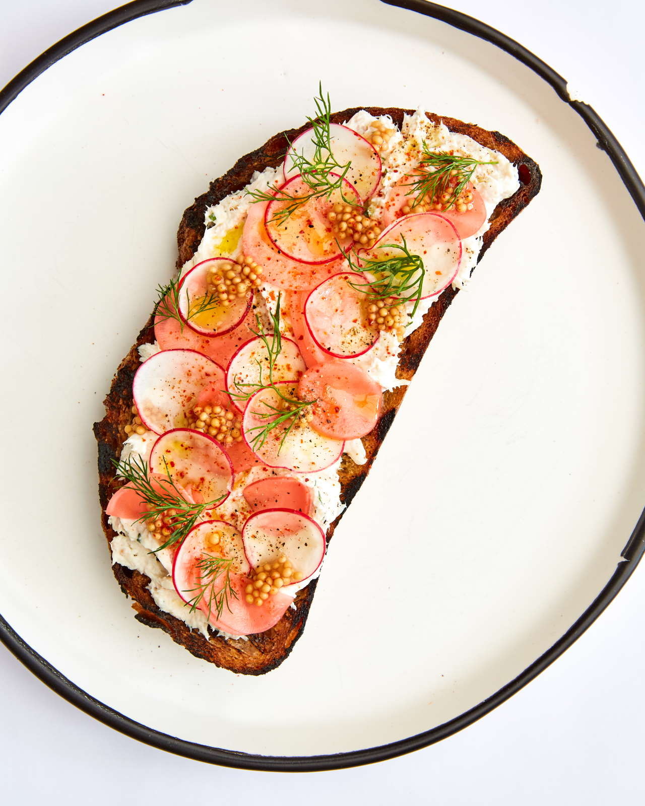 Smoked Trout Tartine. Photo by Ren Fuller.