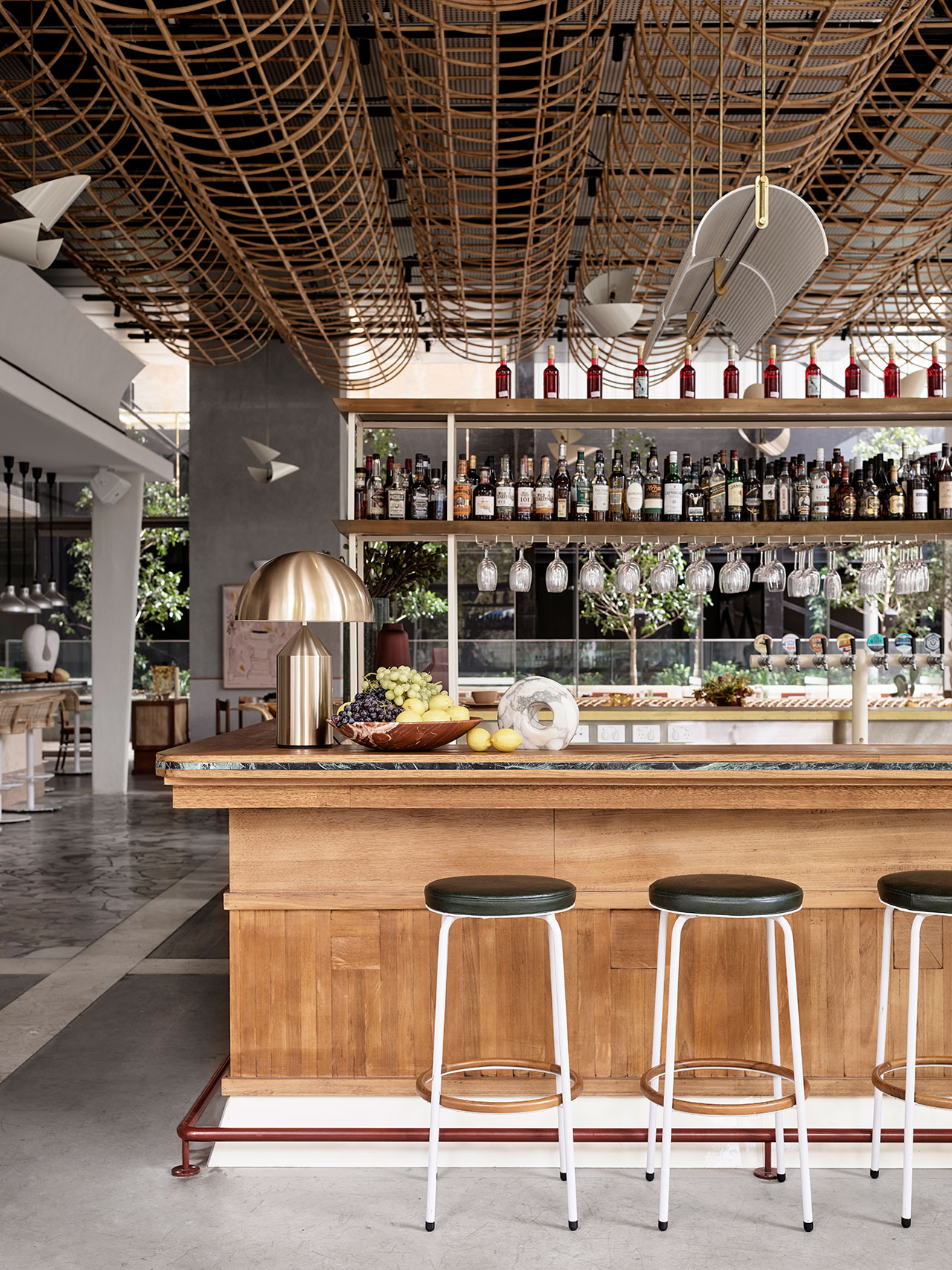 Glorietta restaurant by Alexander & CO. Photo by Anson Smart.