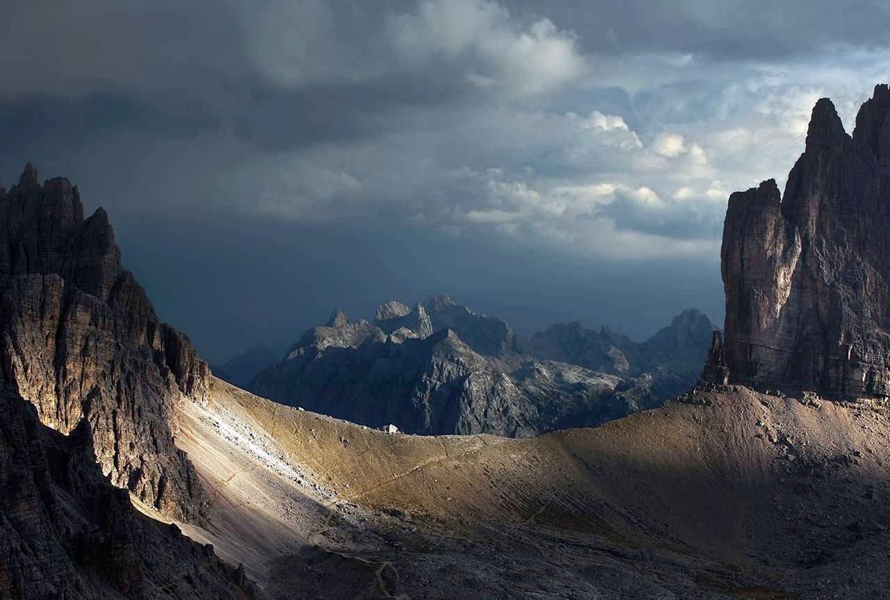Sexten Dolomites, Italy. Photo by Kilian Schönberger, from 'The Great Wide Open', © Gestalten 2015.