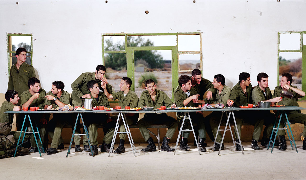 Adi Nes, Untitled (Last Supper), 1996. © Adi Nes / Courtesy of Jack Shainman Gallery.