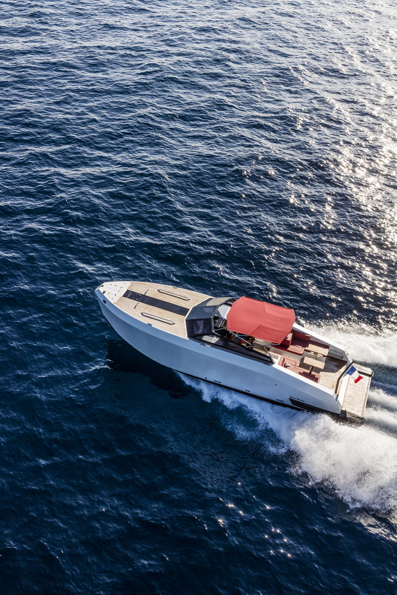 Mazu 38 Open.Photo © Mazu Yachts.