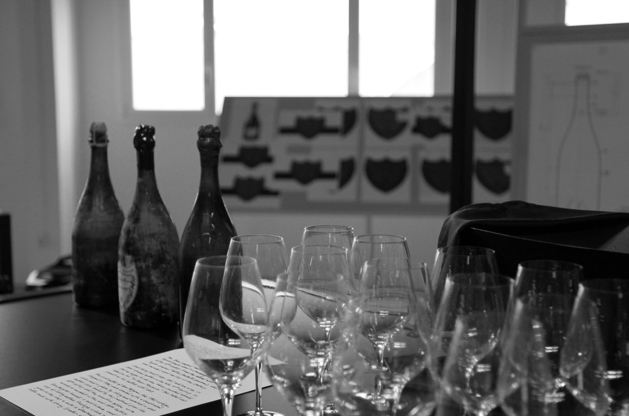 Dom Pérignon x Ferran Adrià decoding process, Barcelona, April 2015, photo by Costas Voyatzis for Yatzer.