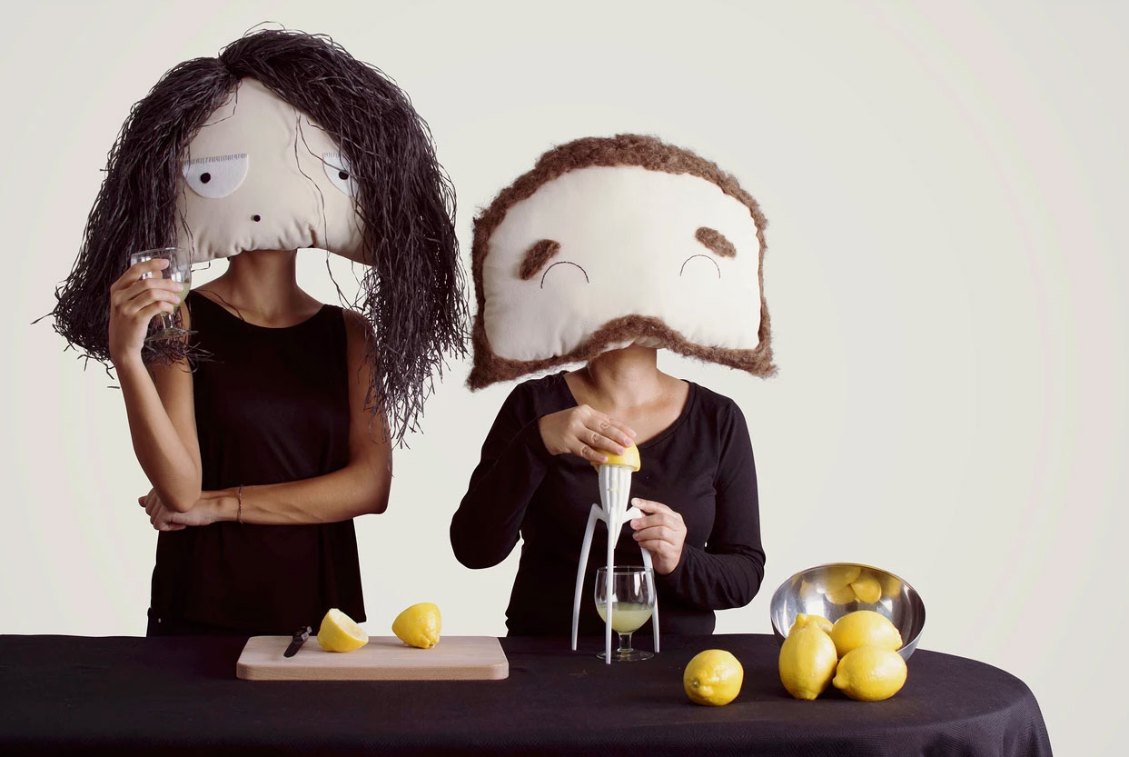 The amazing Faces and masks series of doll making workshops by VINNY, developed during Dubai Design Week 2016.