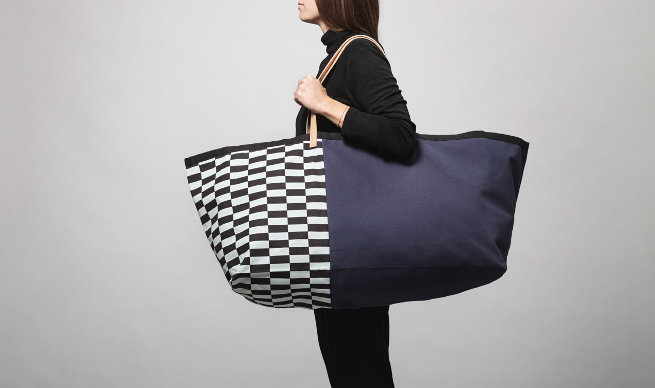 Herman big weekend bag by Ferm Living.