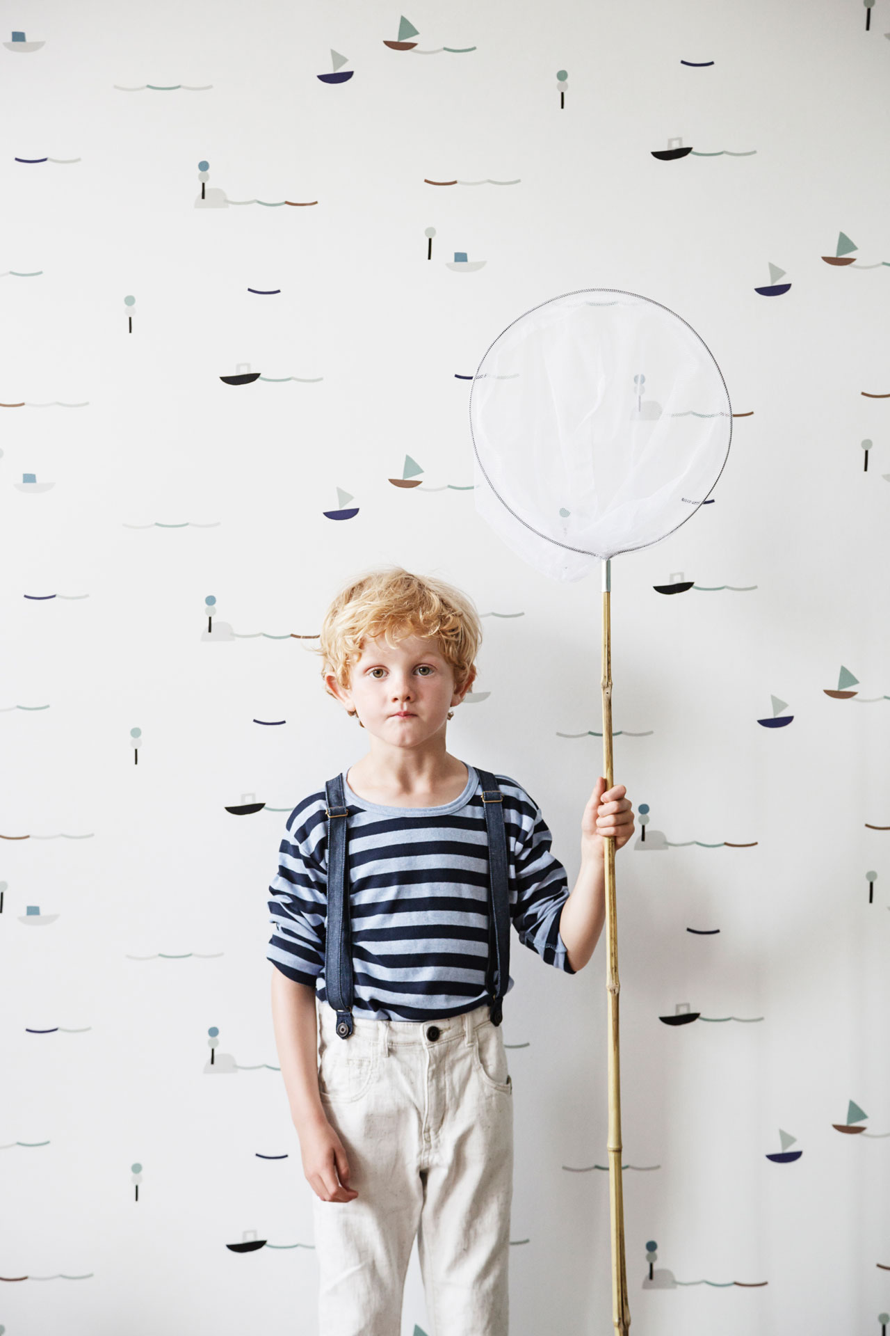 SEASIDE wallpaper from the Kids AW16 collection by Ferm Living.