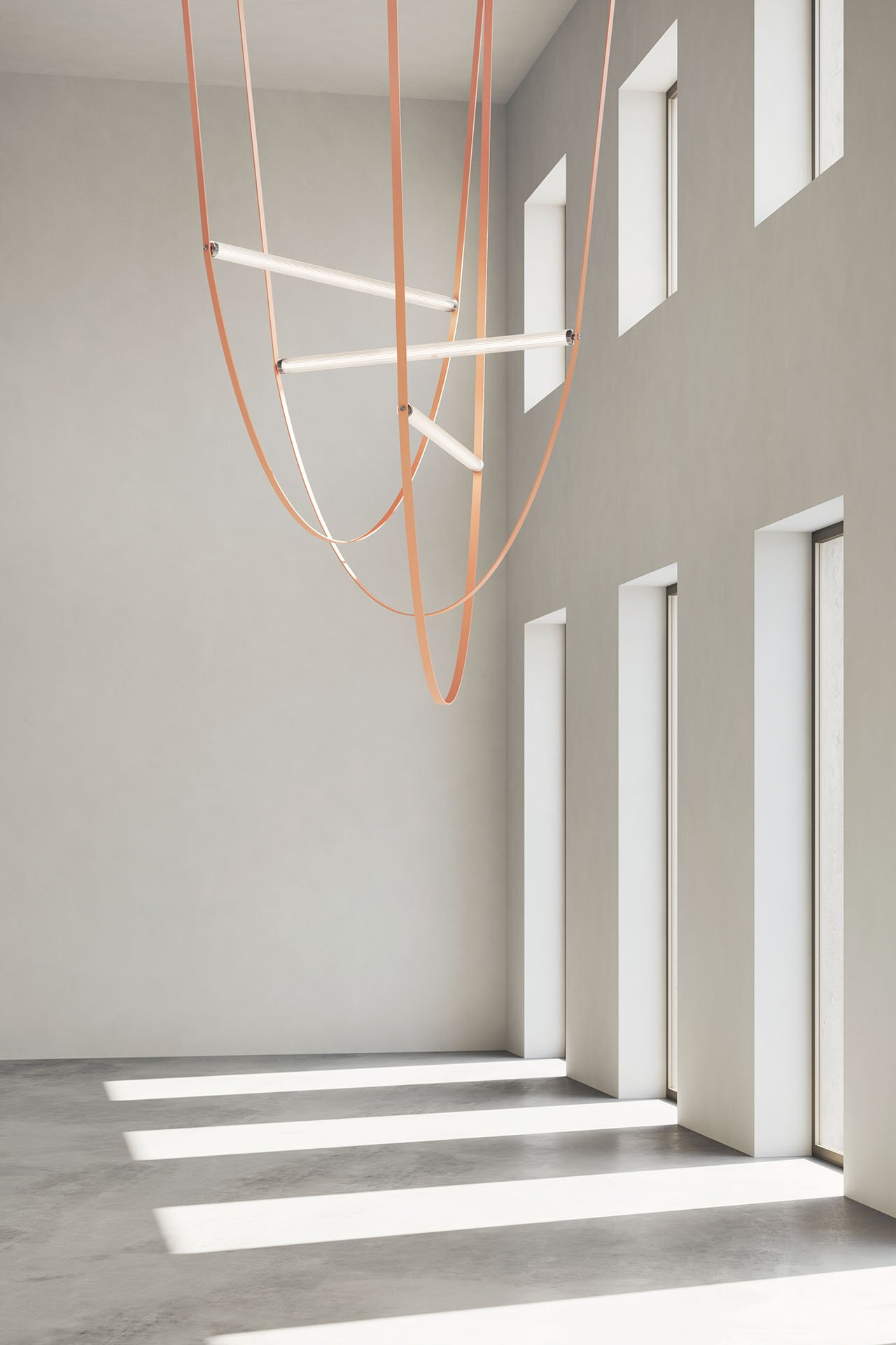 Wireline by Formafantasma for FLOS.Photo by Officine Mimesi.