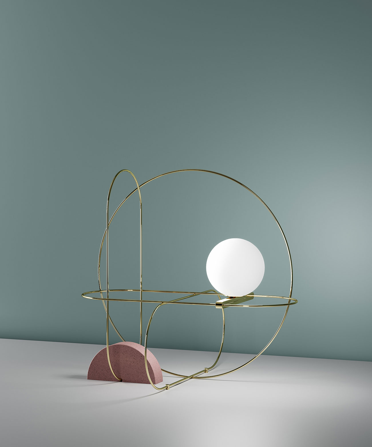 SETAREH table lamp by Francesco Librizzi for Fontana Arte.