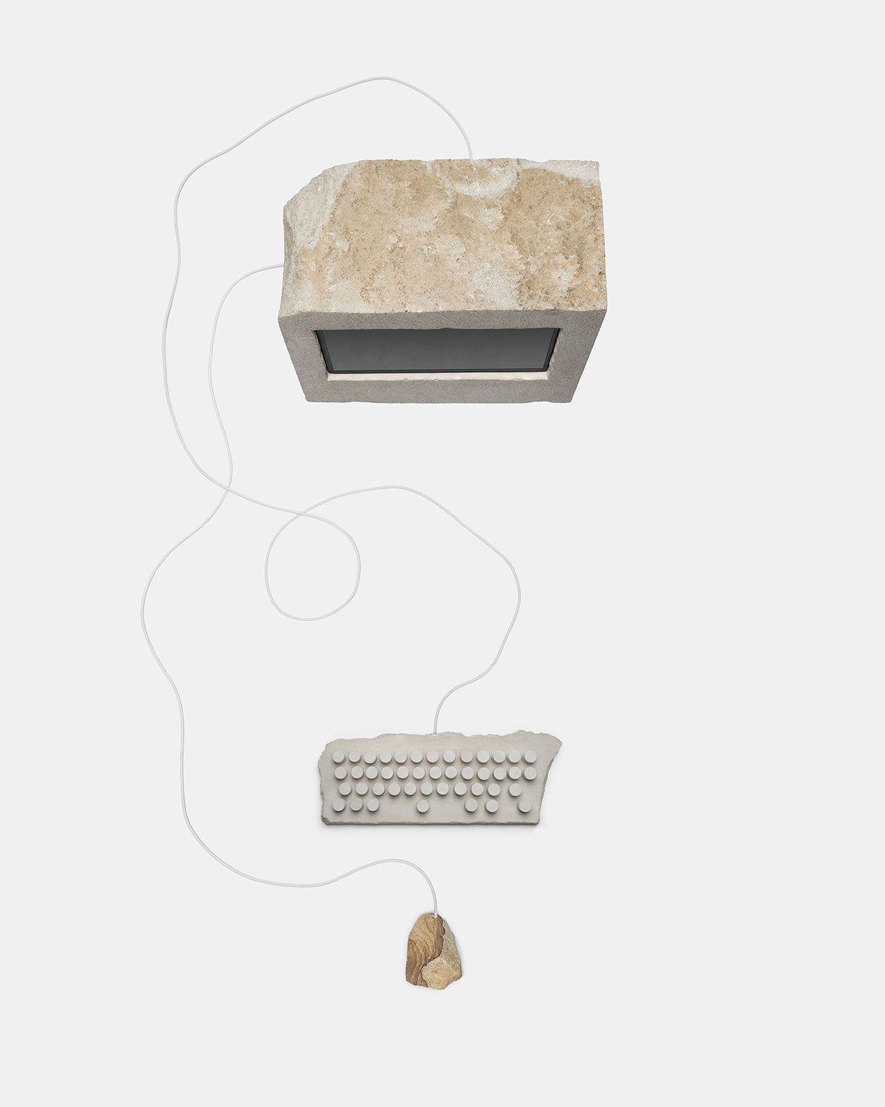 For the Rest of Us A project by Hank Beyer and Alex Sizemore. Sandstone.