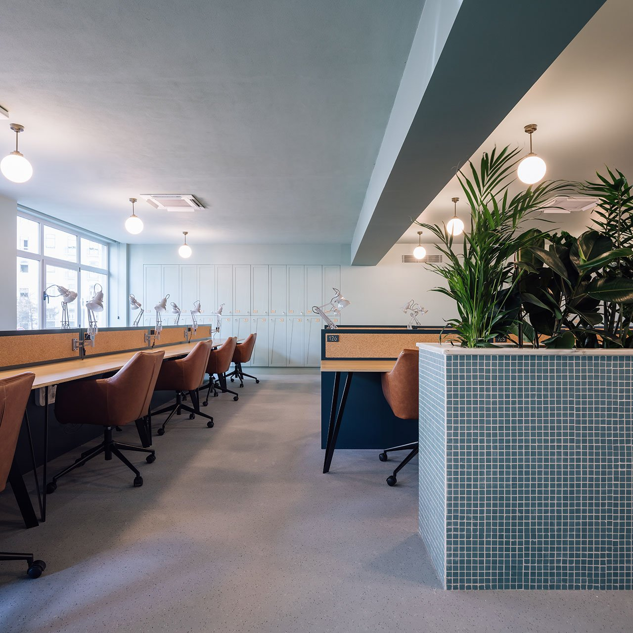 WOOD coworking space by AnahoryAlmeida studio in Lisbon, Portugal.Photo © Francisco Nogueira.
