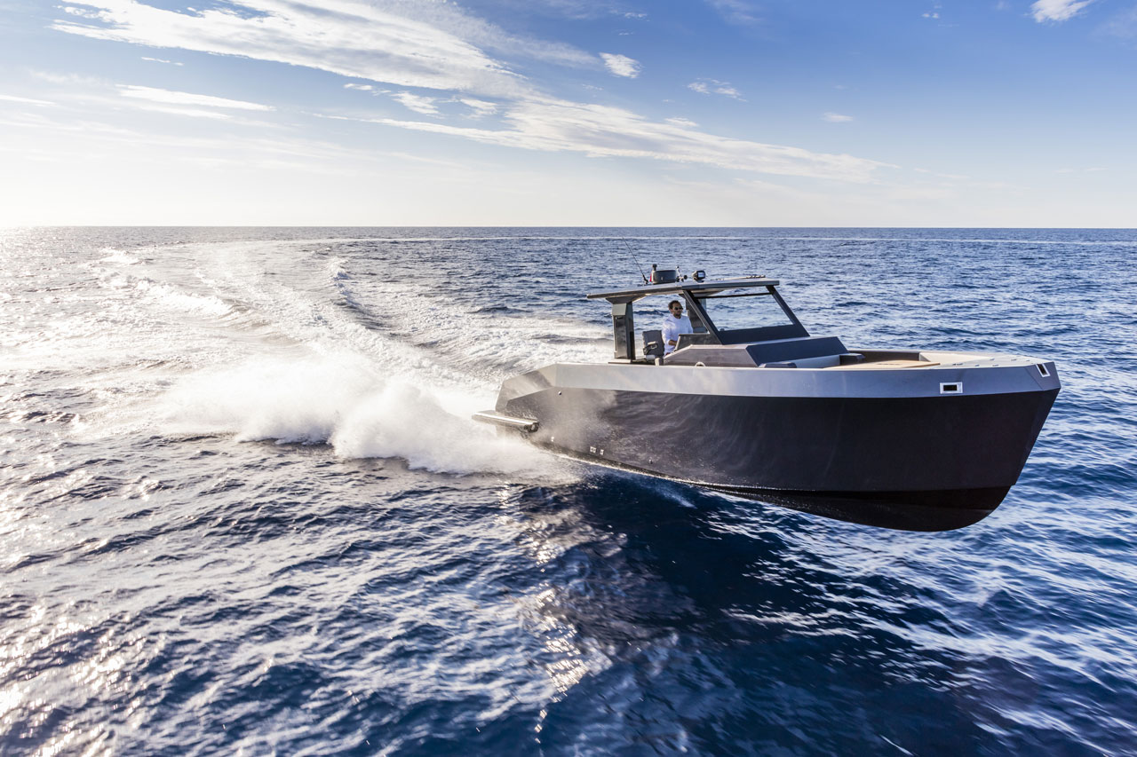 Mazu 42 walk-around.Photo © Mazu Yachts.