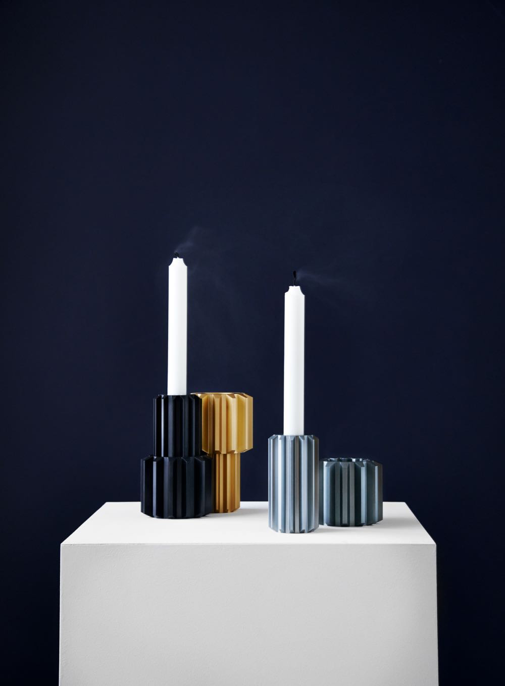 TheGear Candle Holder by Rikke Frost forNEW WORKS.