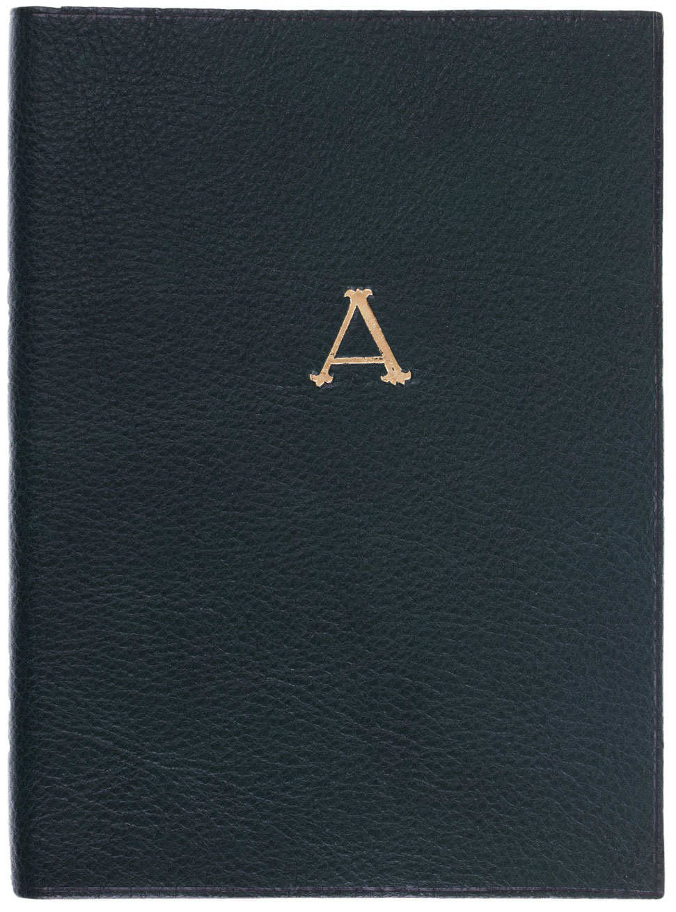 Giannini, Monogramma Leather Notebook.